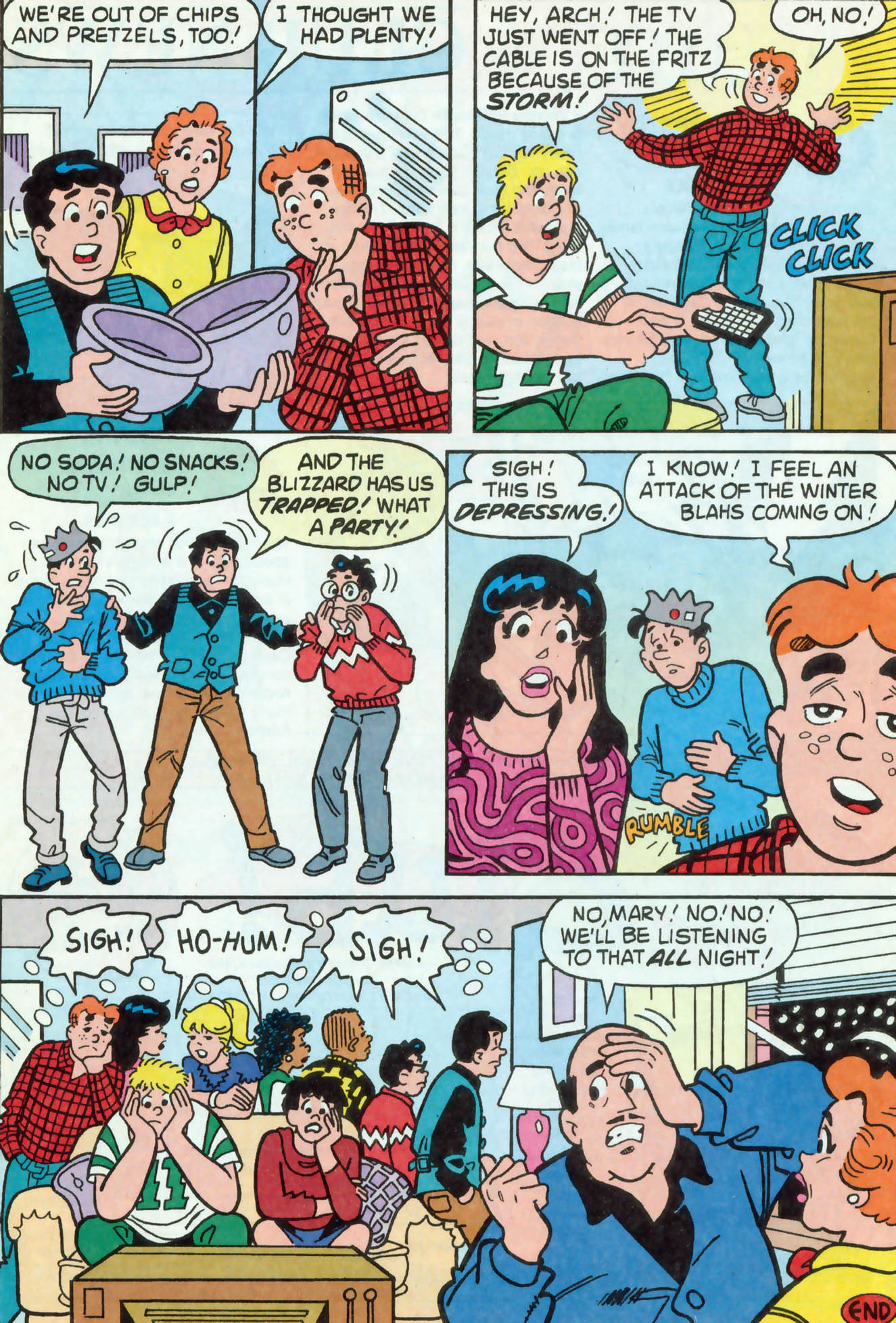Read online Archie (1960) comic -  Issue #469 - 12