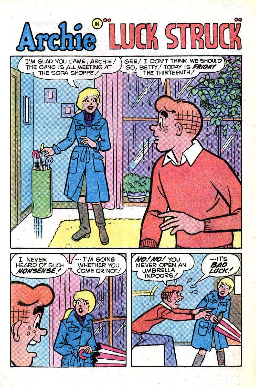 Read online Archie (1960) comic -  Issue #281 - 13