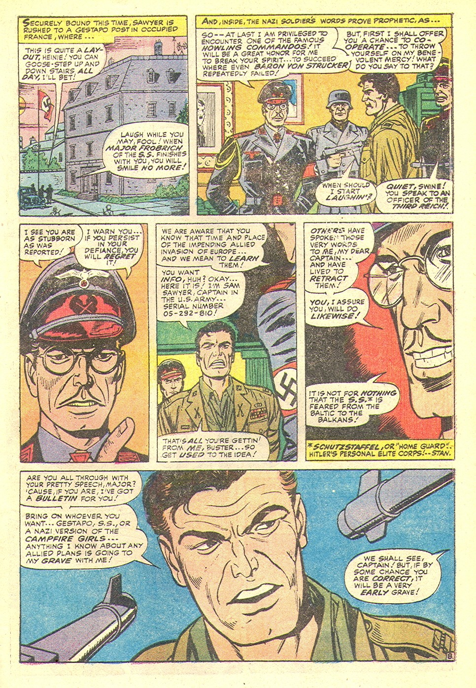Read online Sgt. Fury comic -  Issue #92 - 33