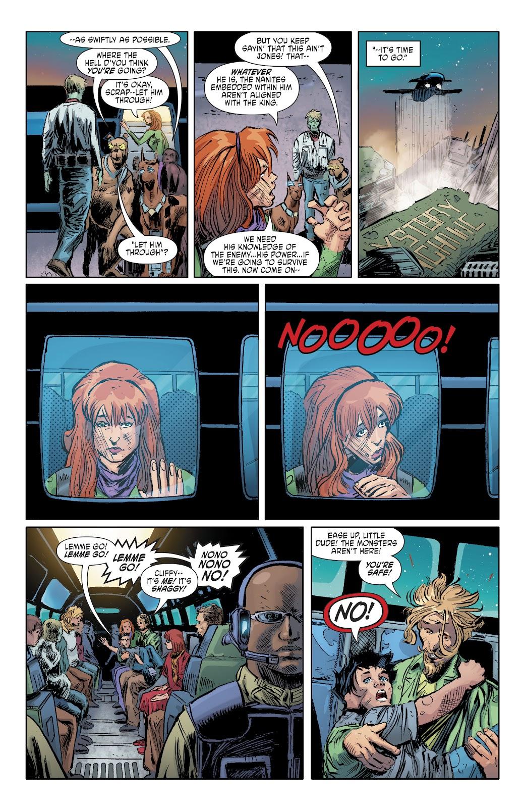 Read online Scooby Apocalypse comic -  Issue #35 - 12
