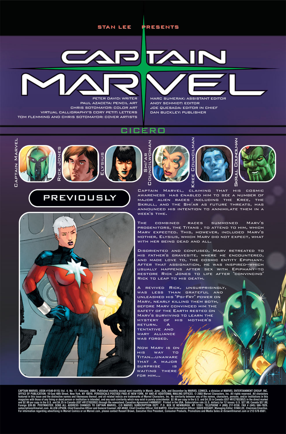 Captain Marvel (2002) Issue #17 #17 - English 2