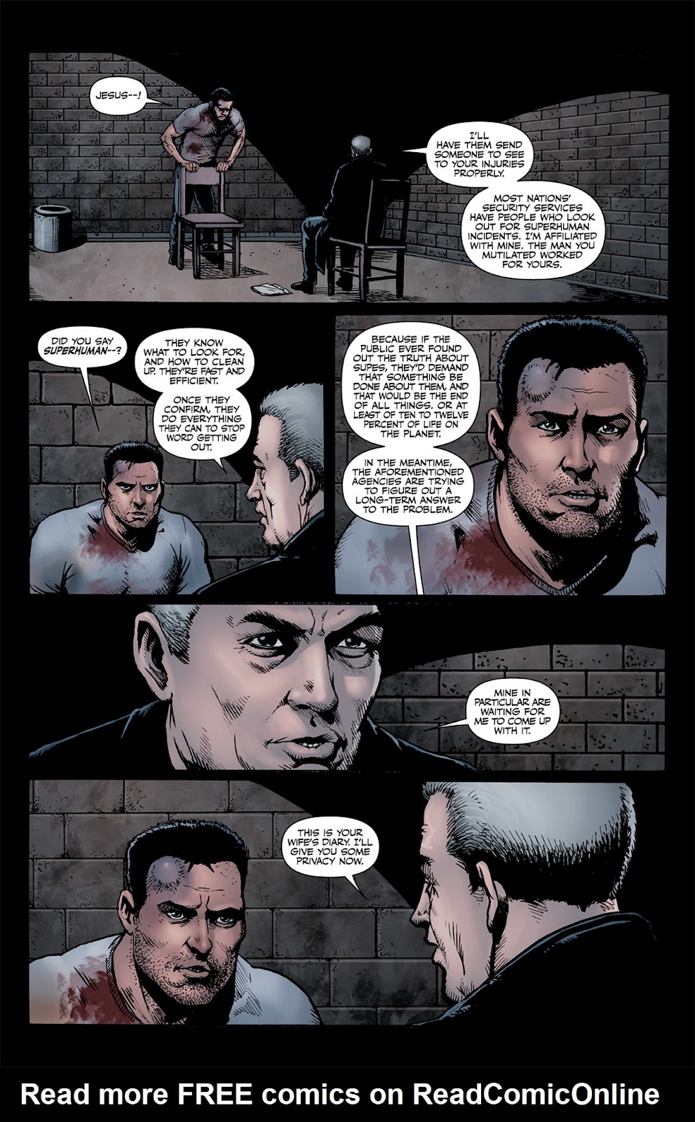 Read online The Boys: Butcher, Baker, Candlestickmaker comic -  Issue #5 - 8
