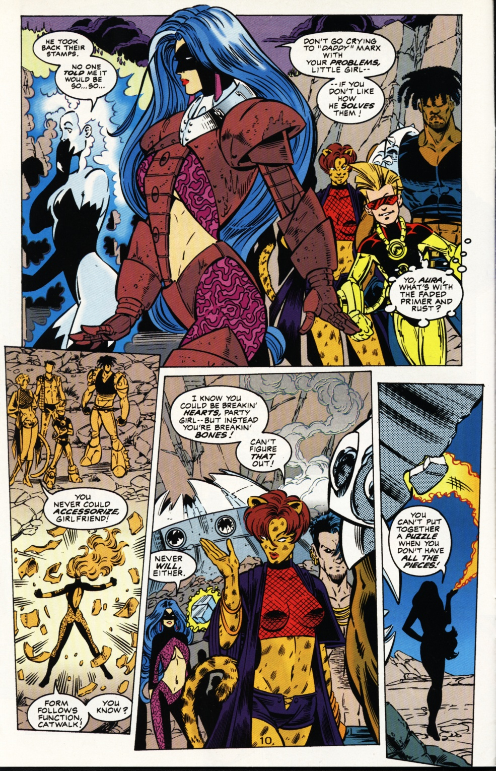 Read online Superboy & The Ravers comic -  Issue #3 - 11