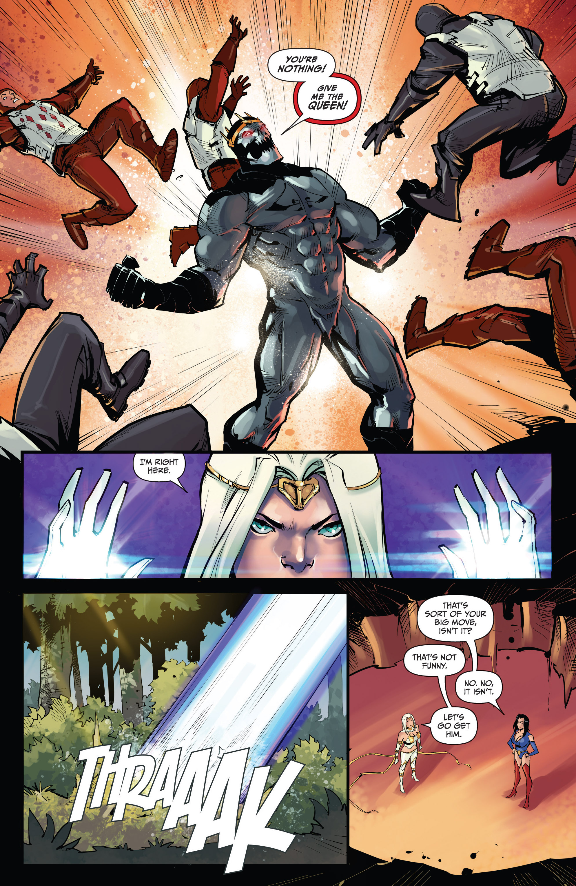Read online Grimm Fairy Tales vs. Wonderland comic -  Issue #4 - 8