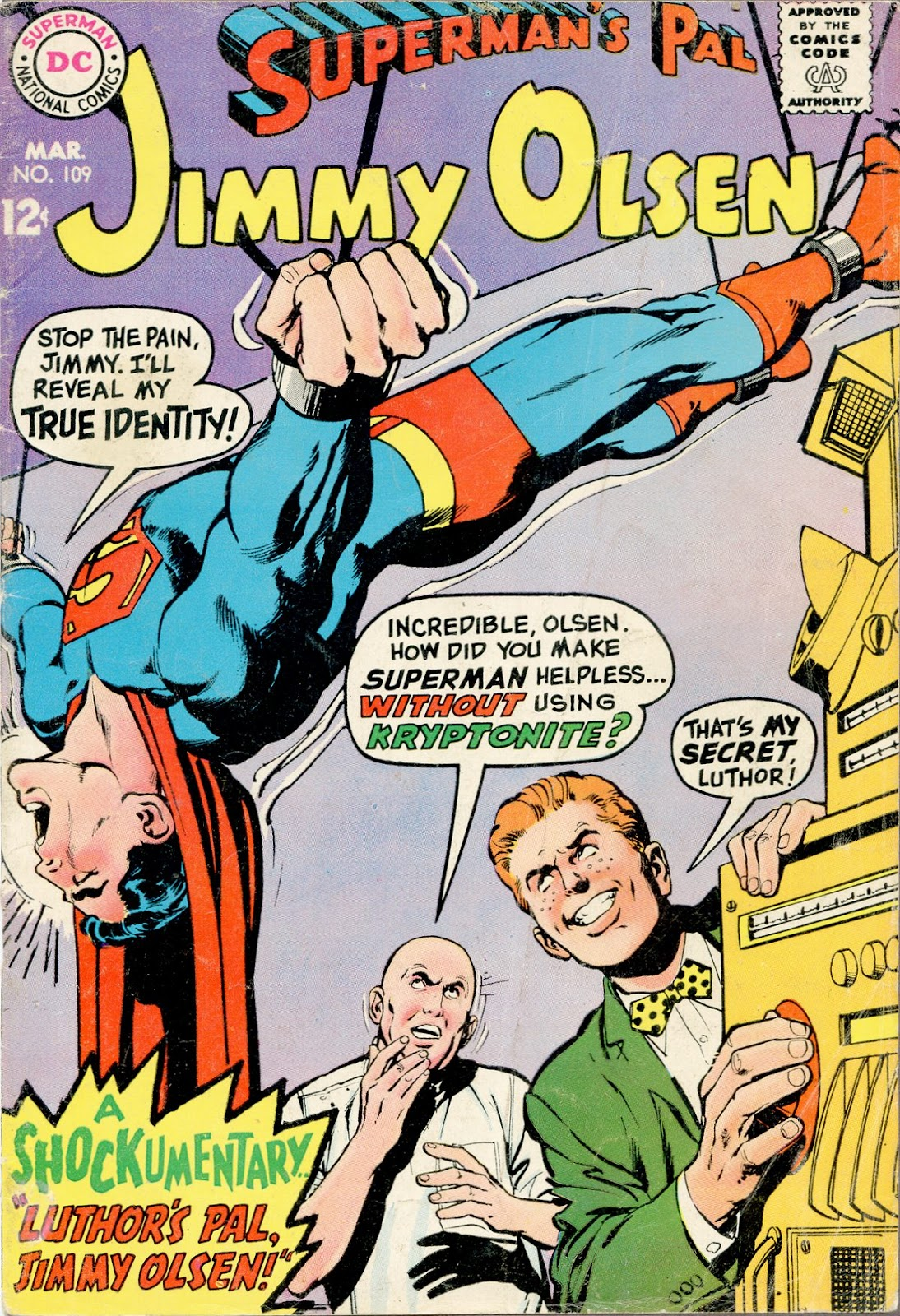 Supermans Pal Jimmy Olsen (1954) 109 Page 1