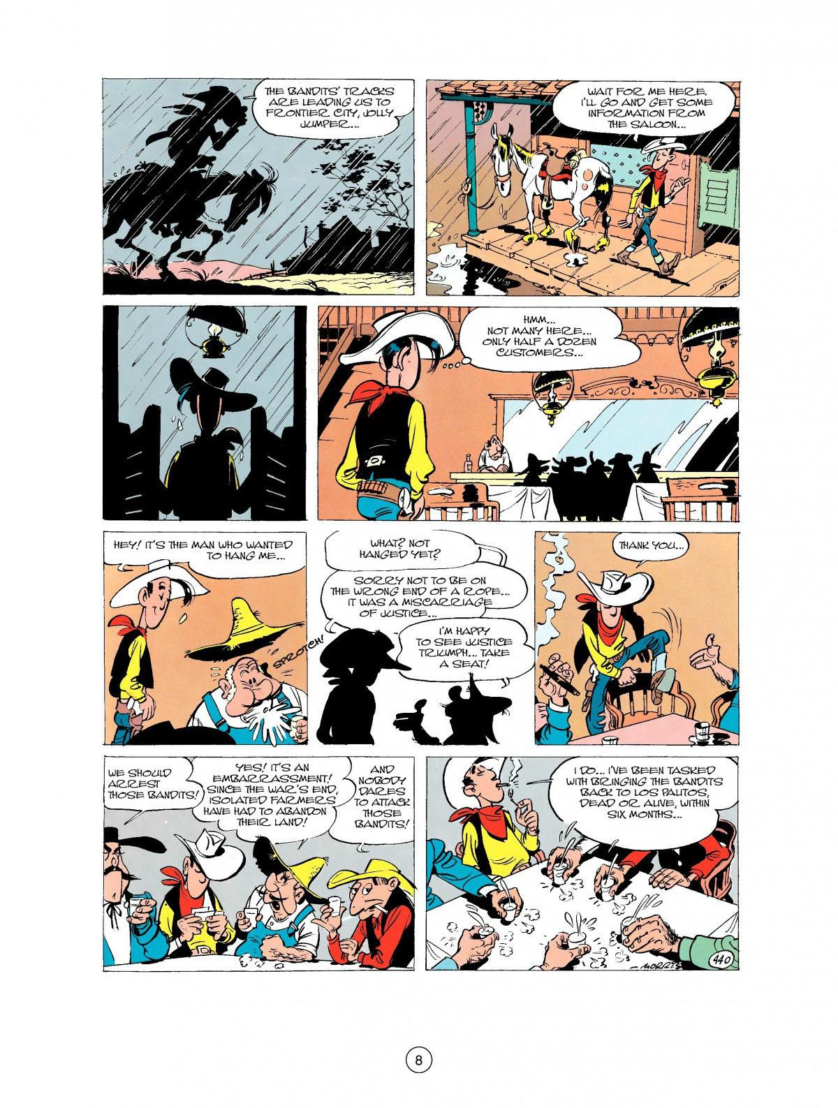 Read online A Lucky Luke Adventure comic -  Issue #27 - 9