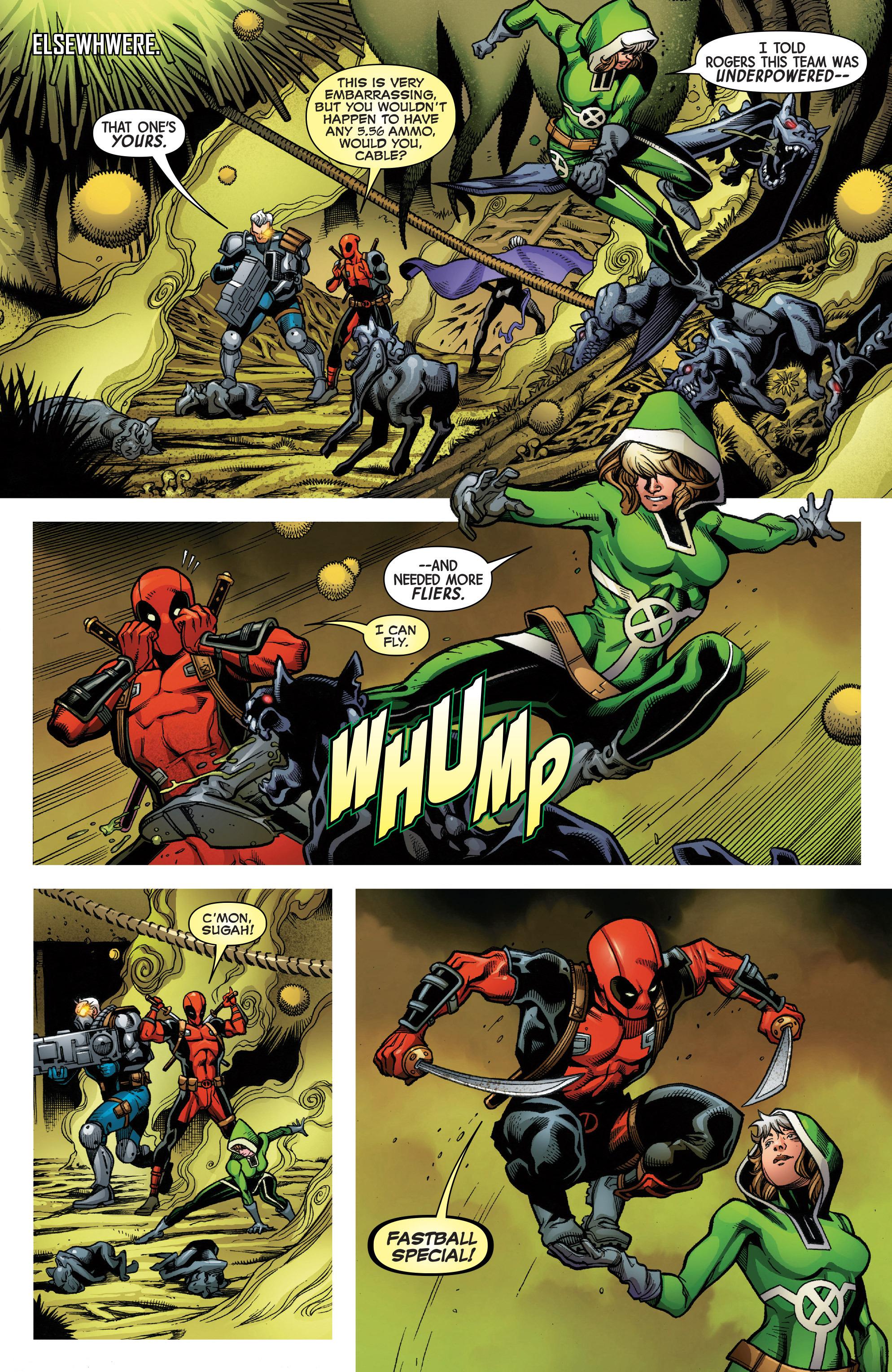 Read online Uncanny Avengers [II] comic -  Issue #4 - 5