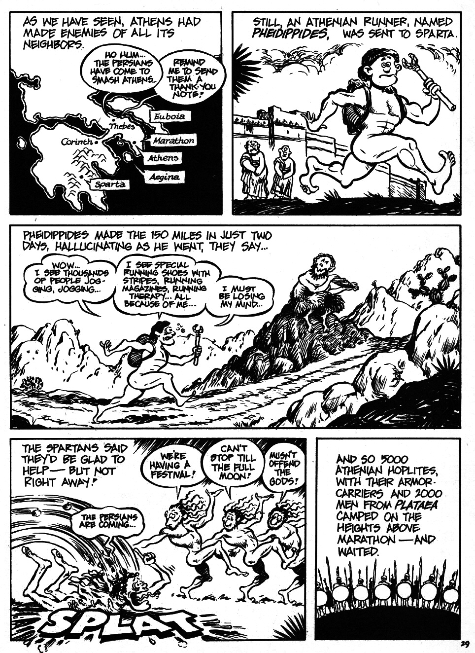 Read online The Cartoon History of the Universe comic -  Issue #6 - 31