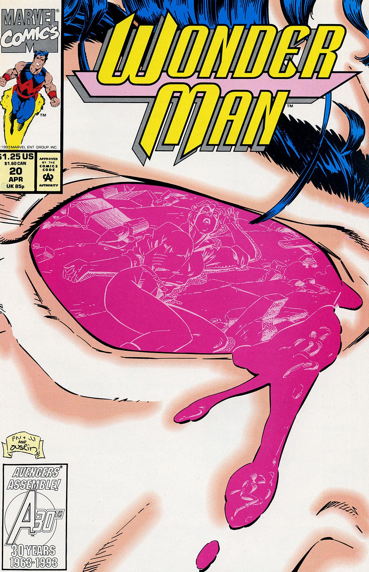 Read online Wonder Man (1991) comic -  Issue #20 - 1