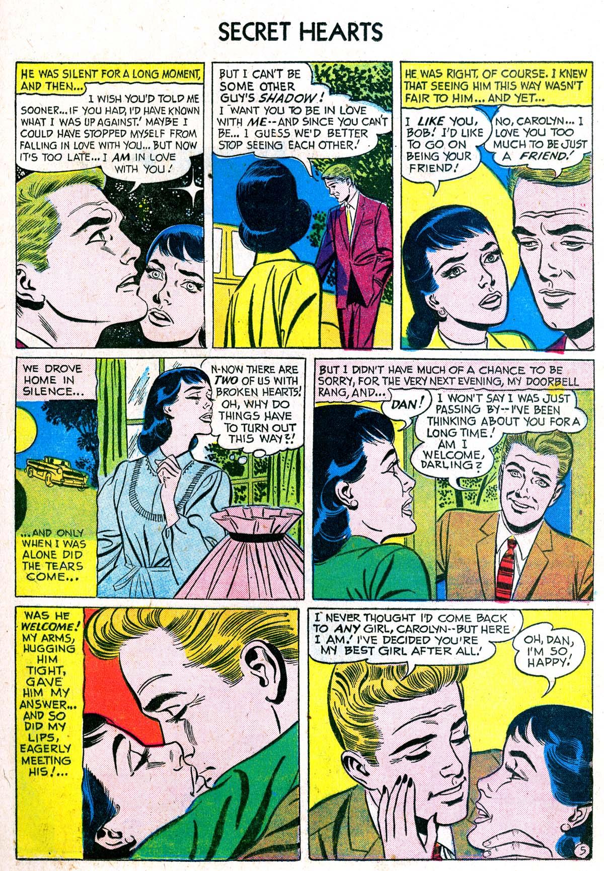 Read online Secret Hearts comic -  Issue #38 - 21