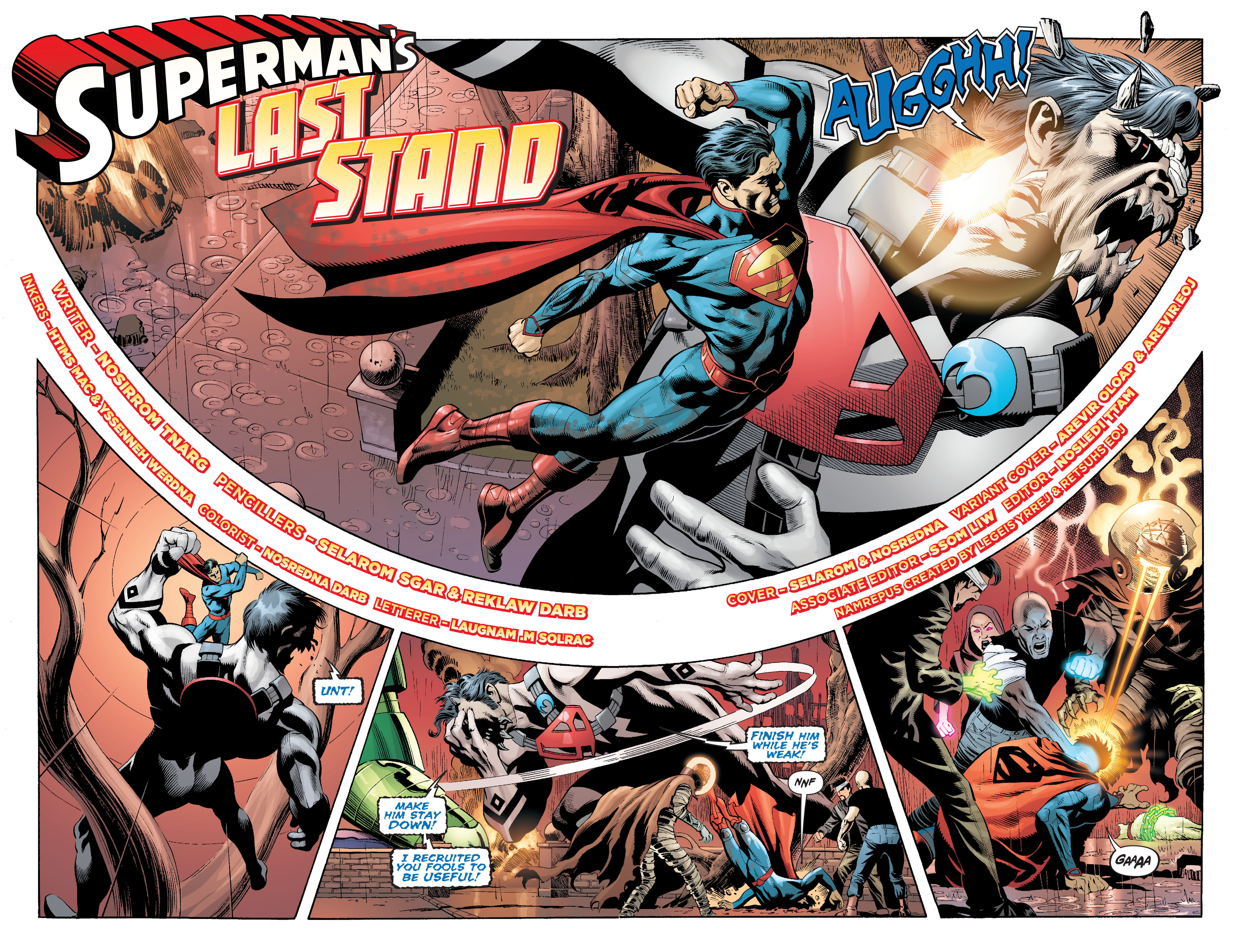 Read online Action Comics (2011) comic -  Issue #18 - 8