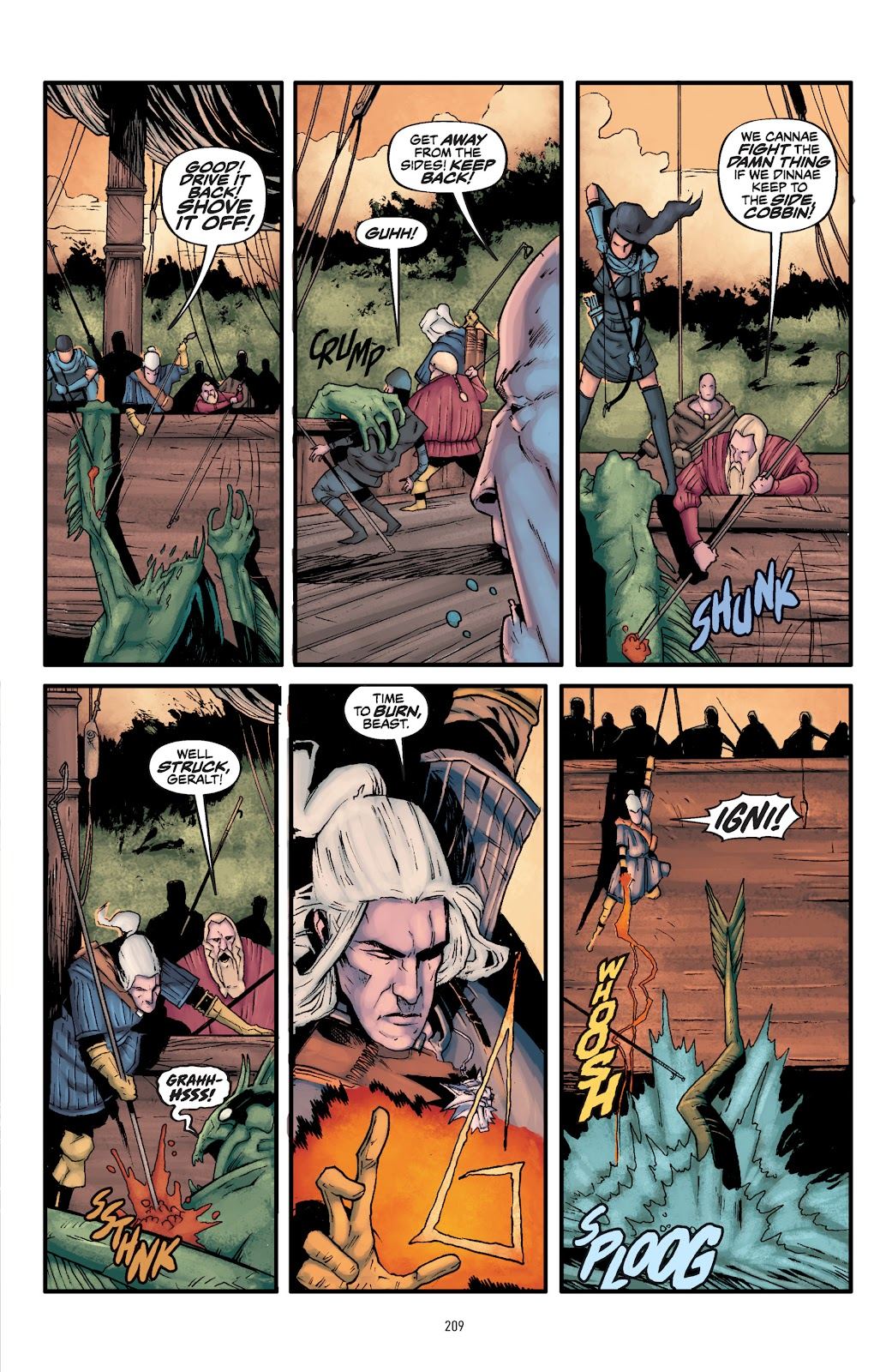 Read online The Witcher Omnibus comic -  Issue # TPB (Part 3) - 12