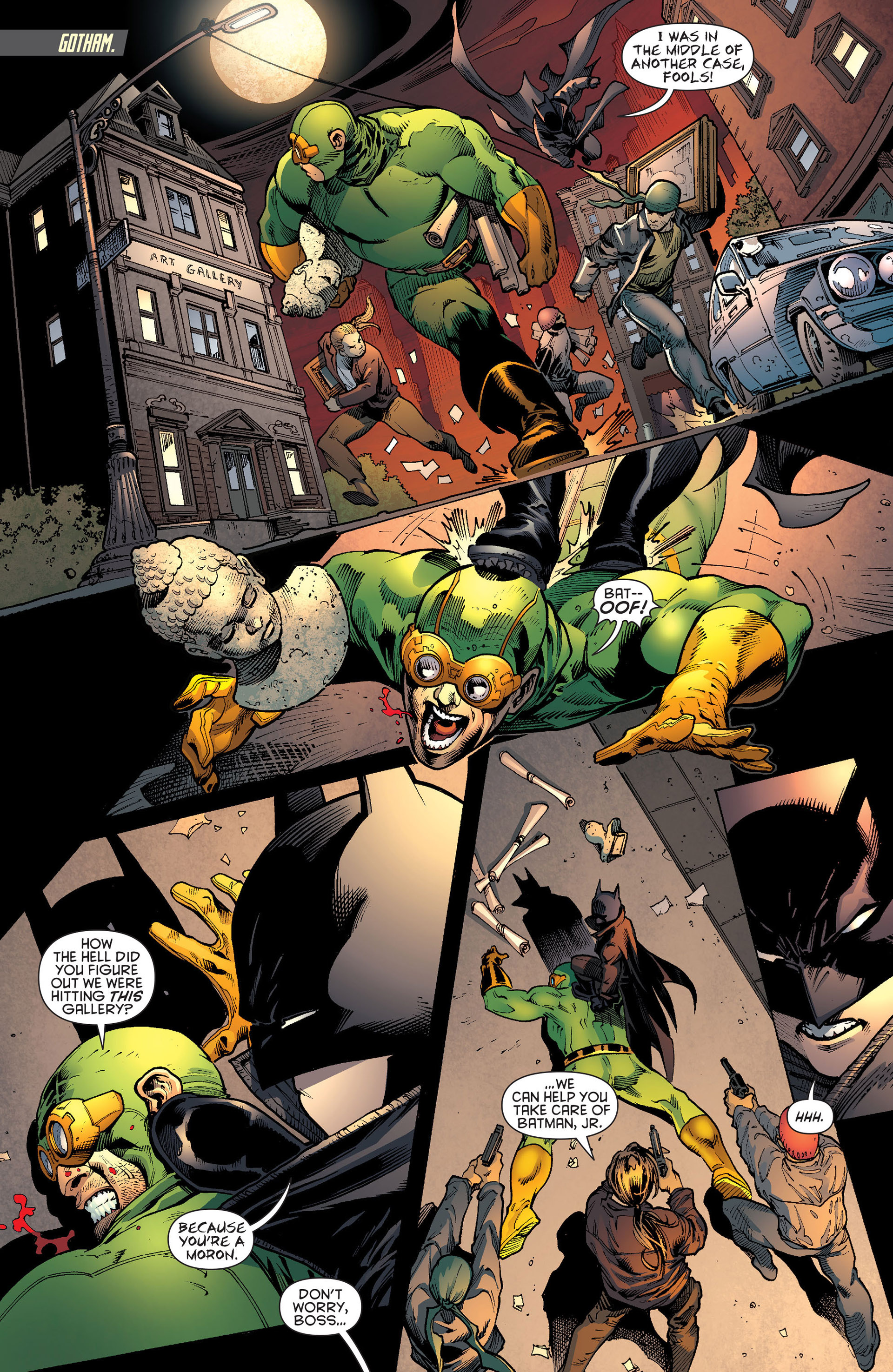 Read online Batman and Robin (2011) comic -  Issue # Annual 1 - 15