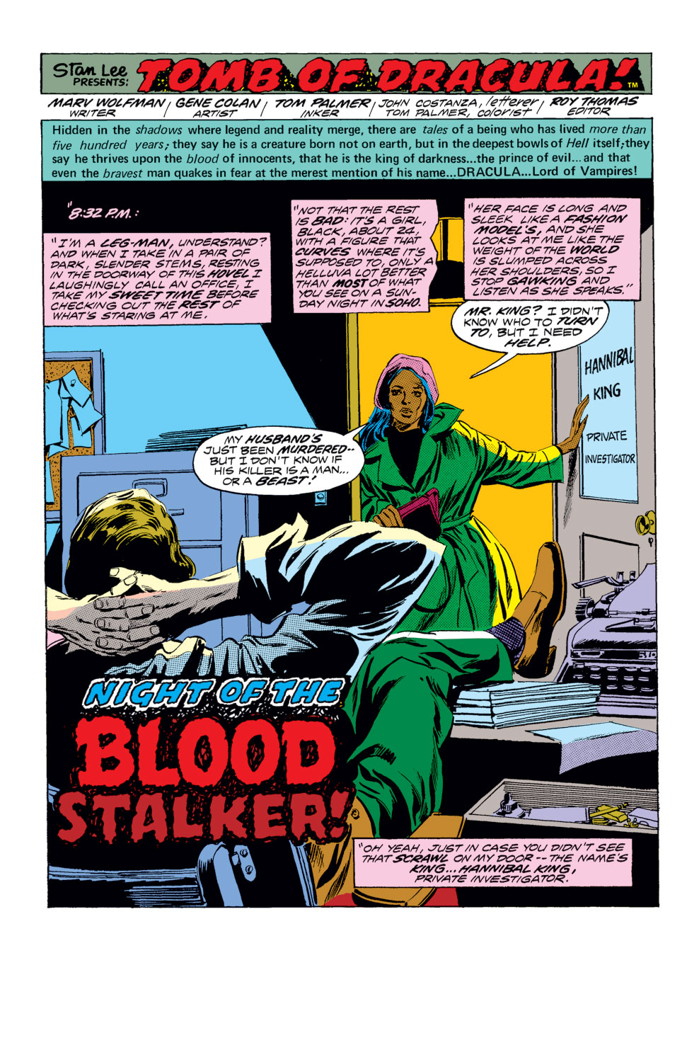 Tomb of Dracula (1972) issue 25 - Page 2