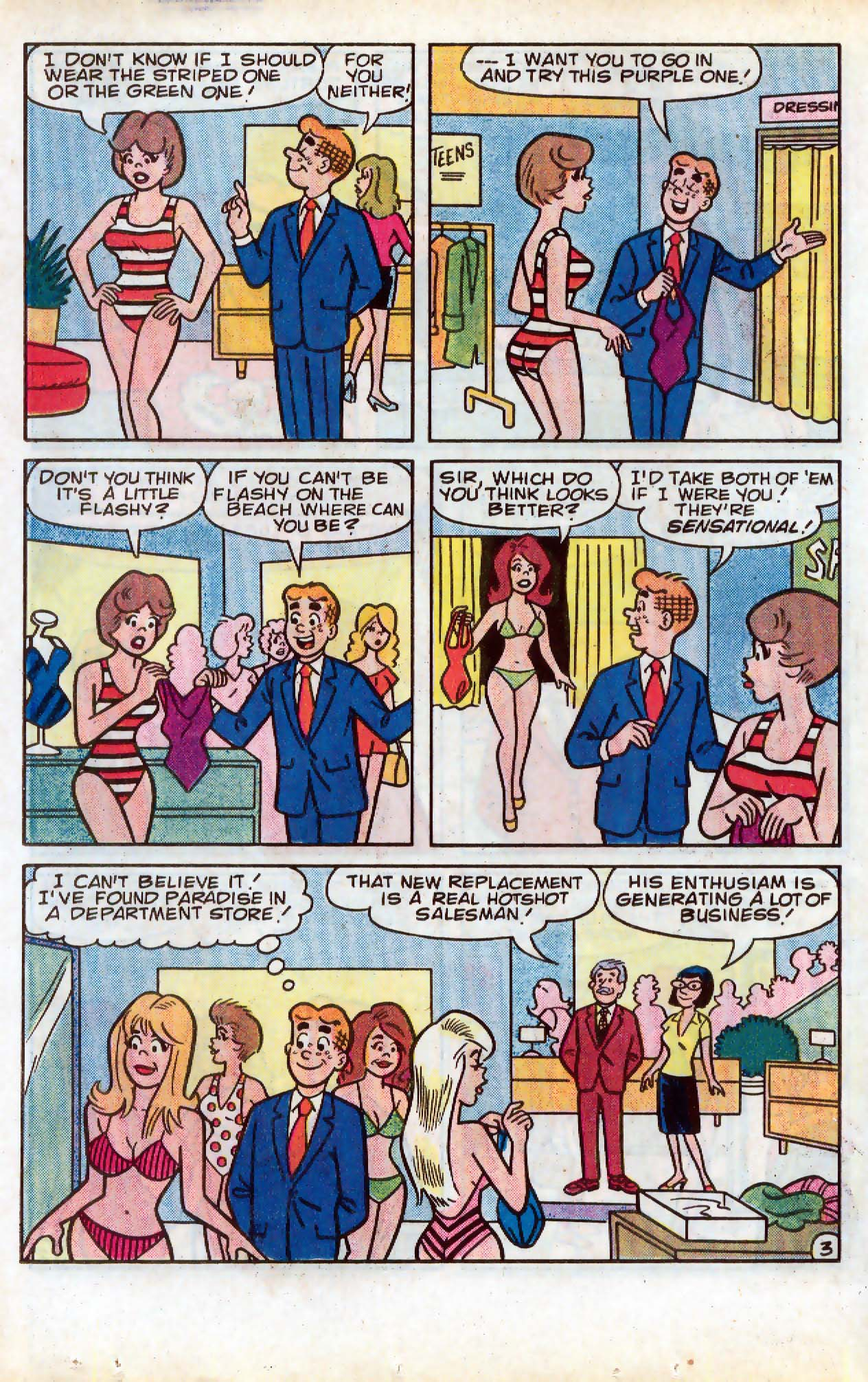 Read online Archie (1960) comic -  Issue #331 - 17