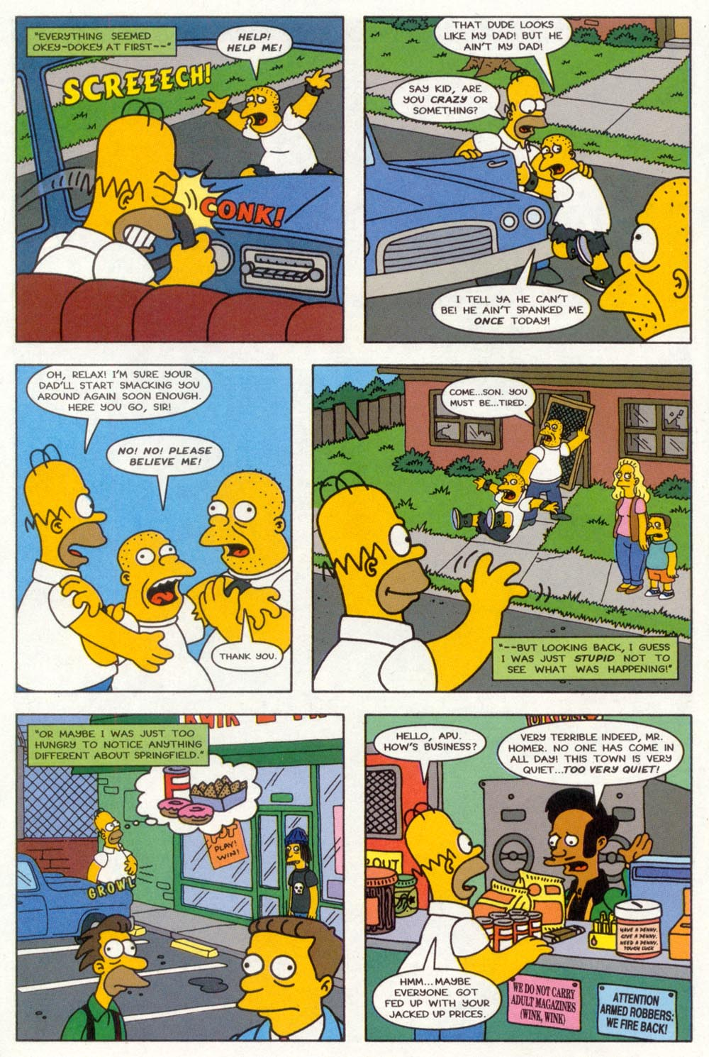 Read online Treehouse of Horror comic -  Issue #3 - 5