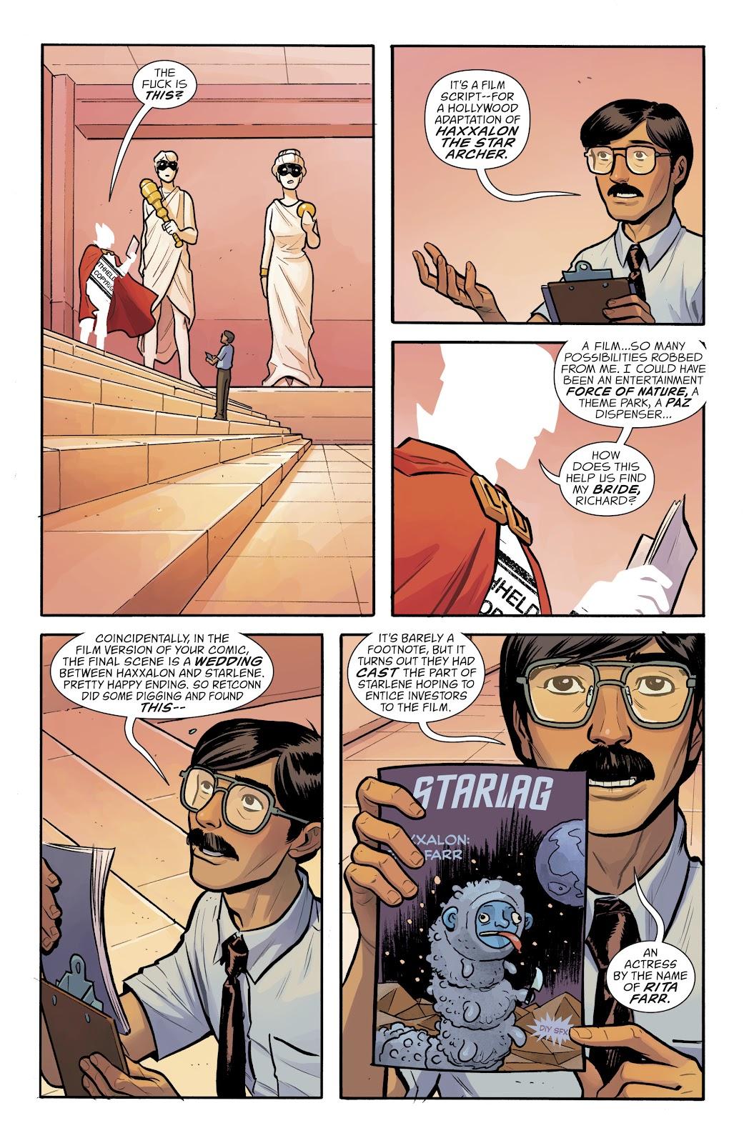 Comic Doom Patrol (2016) issue 10