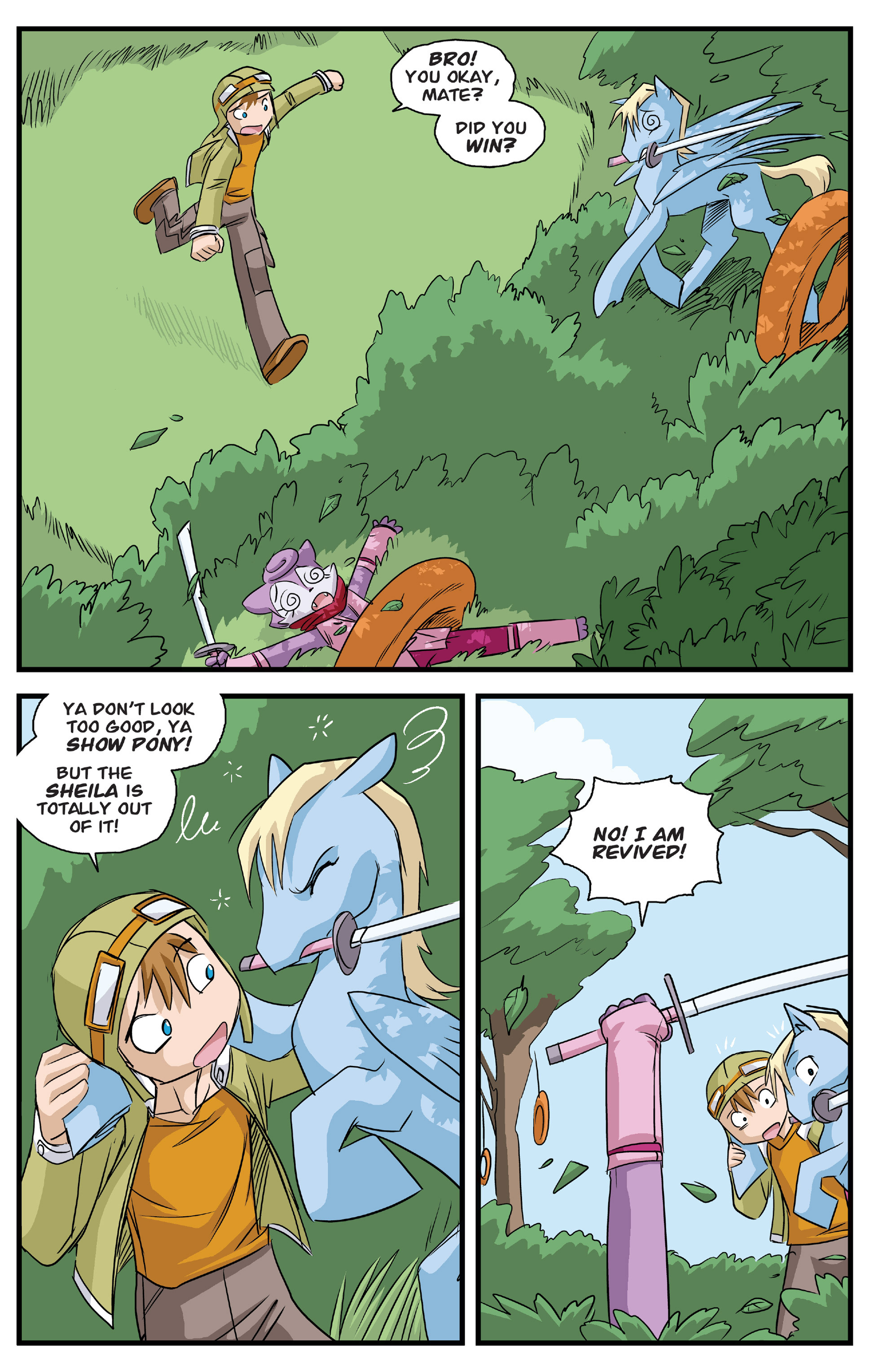 Read online Action Time Buddies comic -  Issue #Action Time Buddies Full - 26