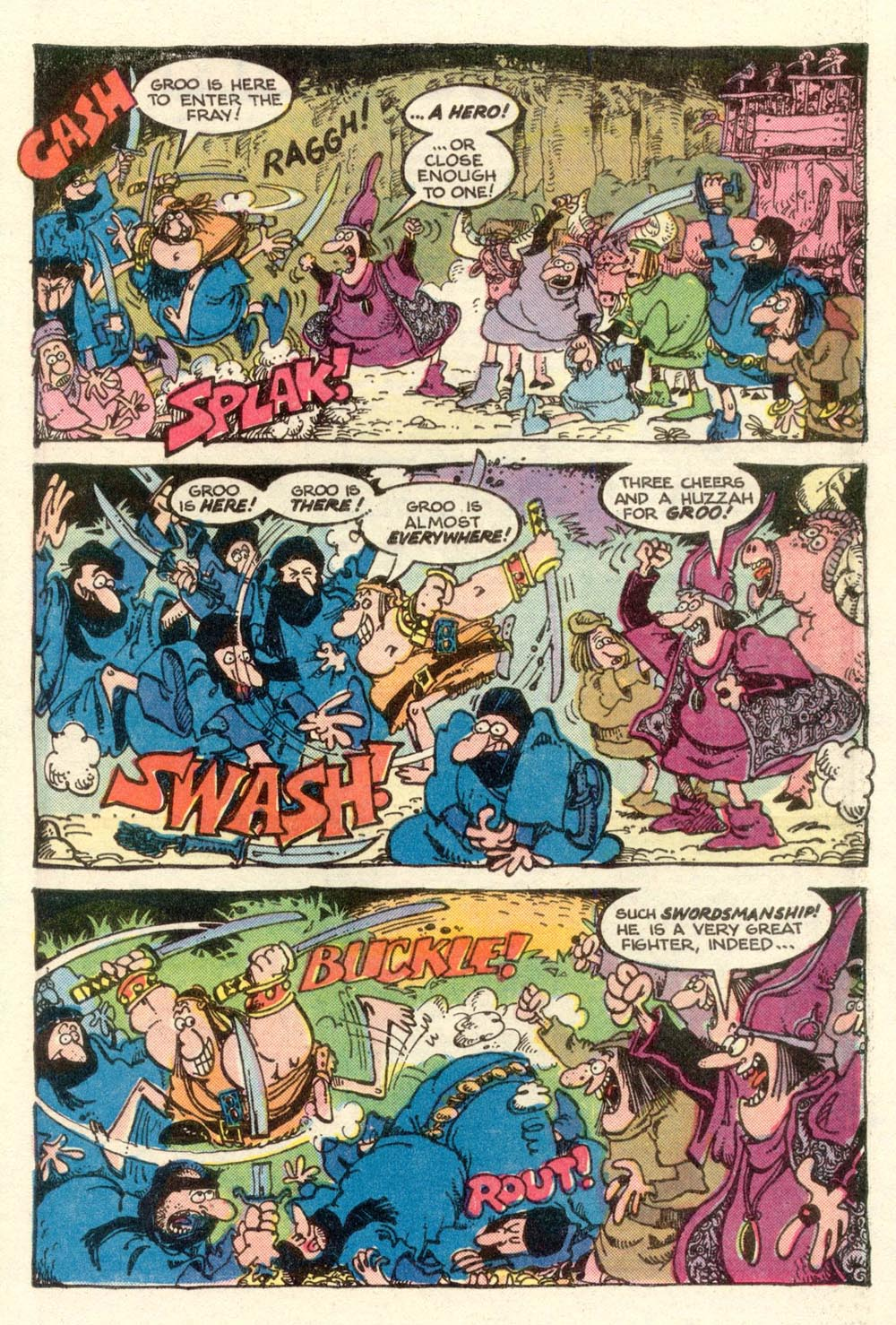 Read online Sergio Aragonés Groo the Wanderer comic -  Issue #3 - 20