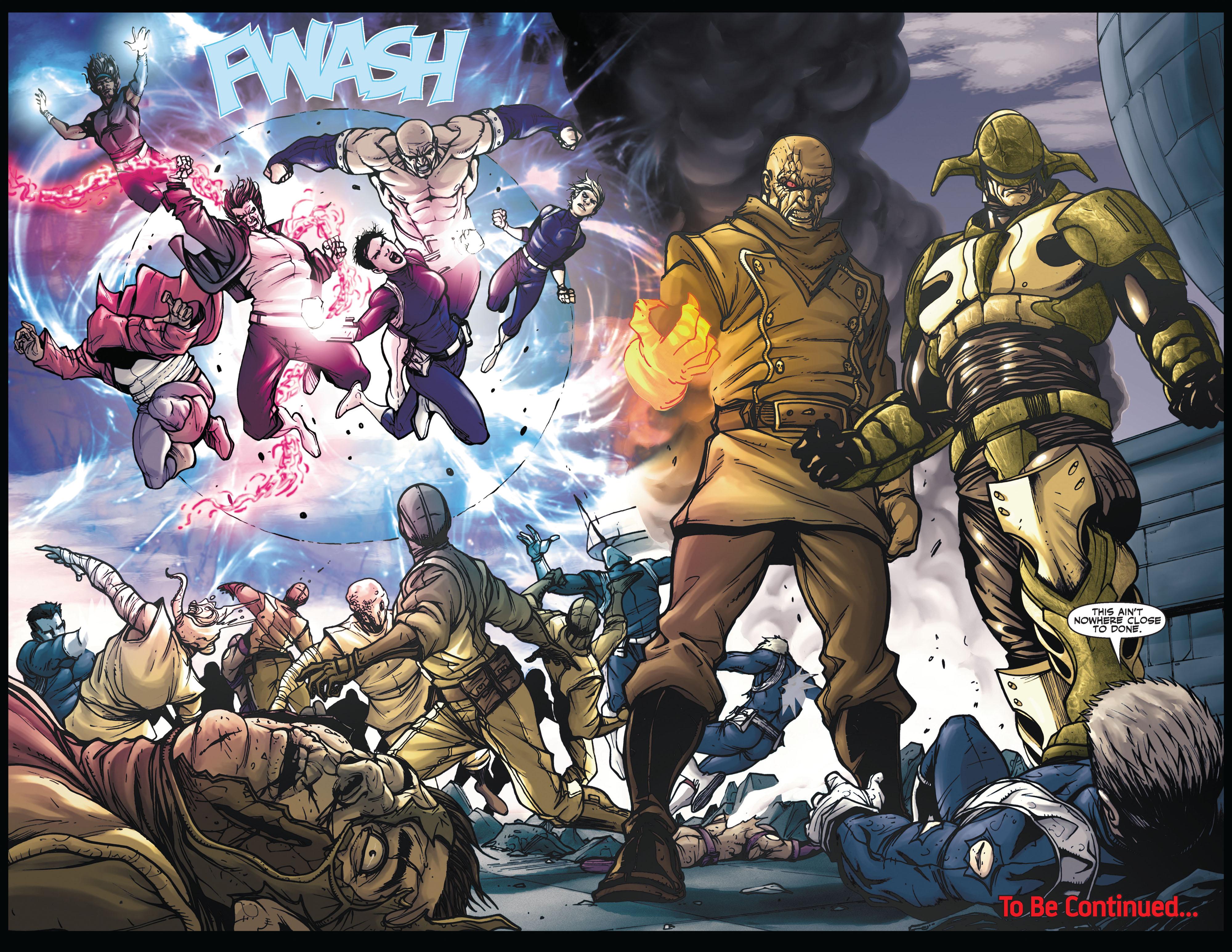 Read online Secret Warriors comic -  Issue #5 - 22