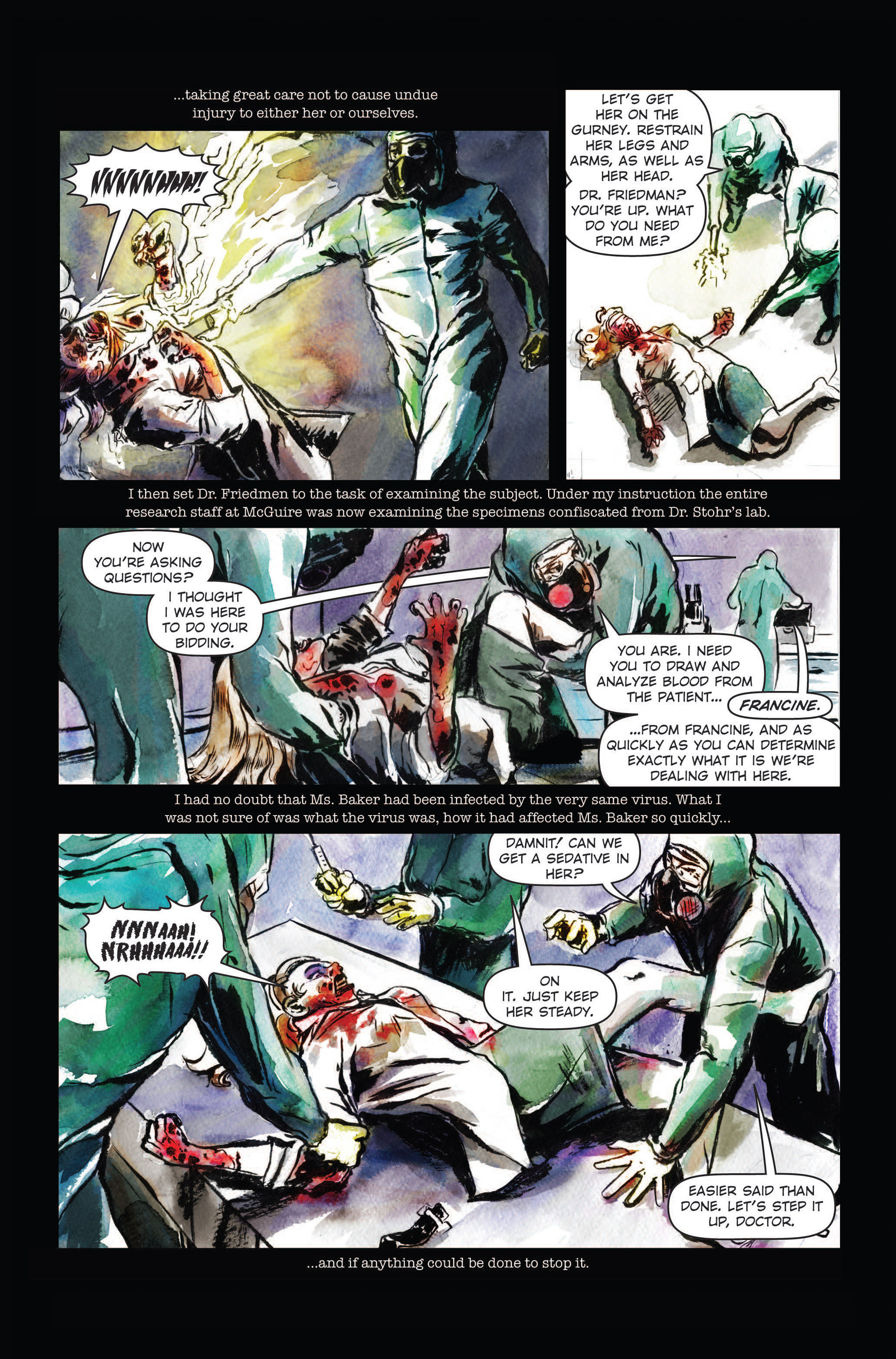 Read online The Final Plague comic -  Issue #3 - 7