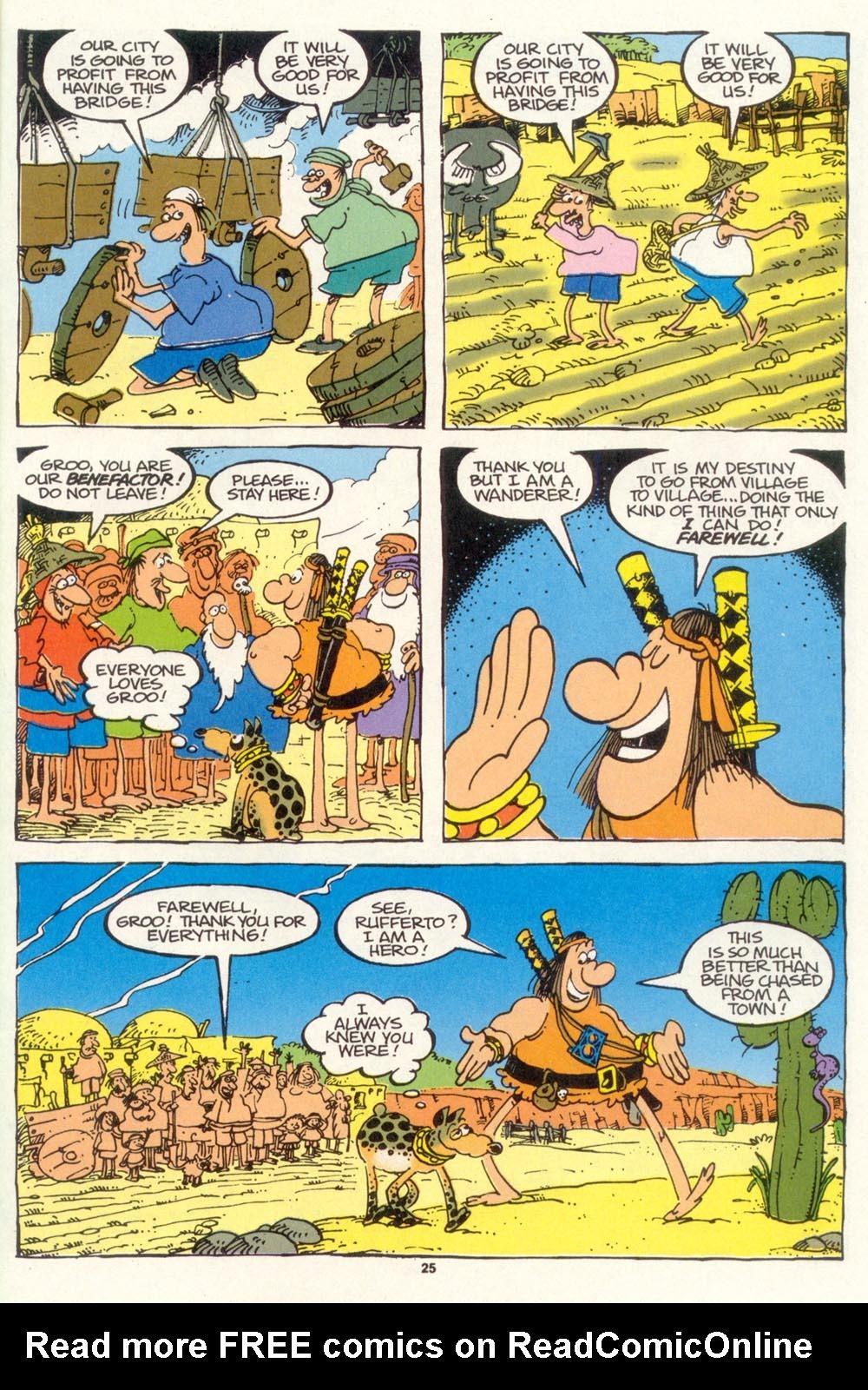 Read online Sergio Aragonés Groo the Wanderer comic -  Issue #102 - 27