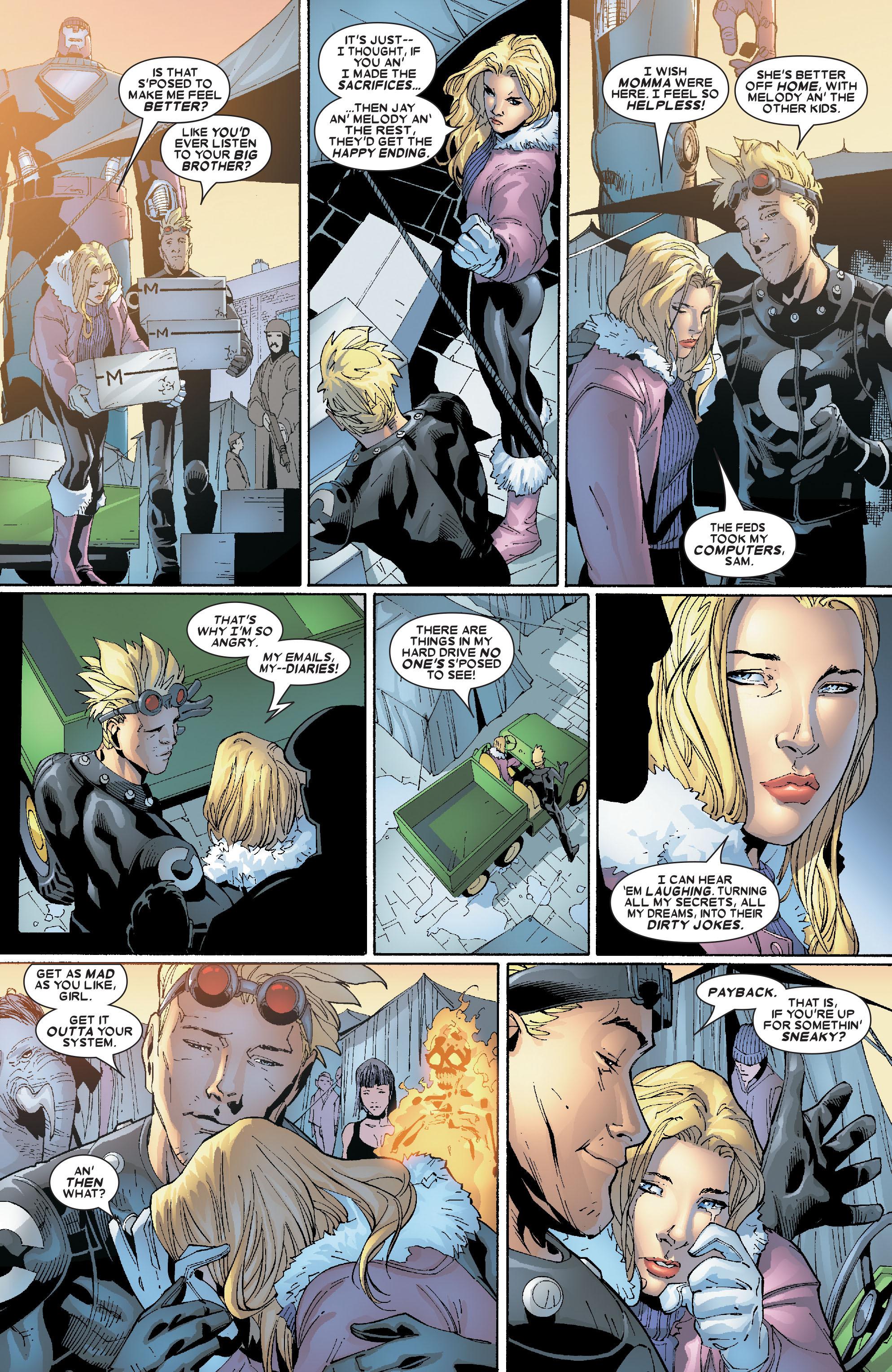 Read online Uncanny X-Men (1963) comic -  Issue #469 - 20