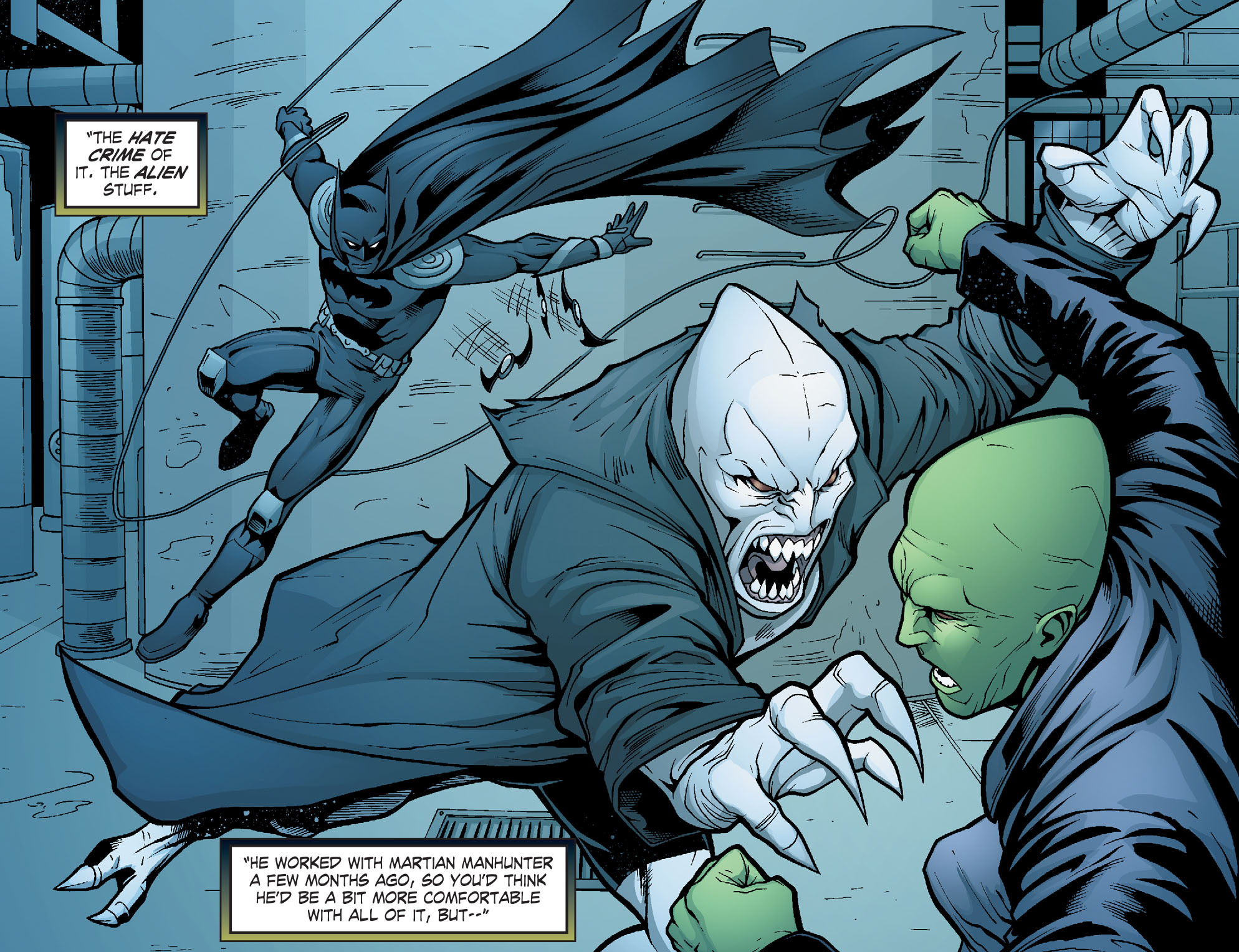 Read online Smallville: Alien comic -  Issue #6 - 9