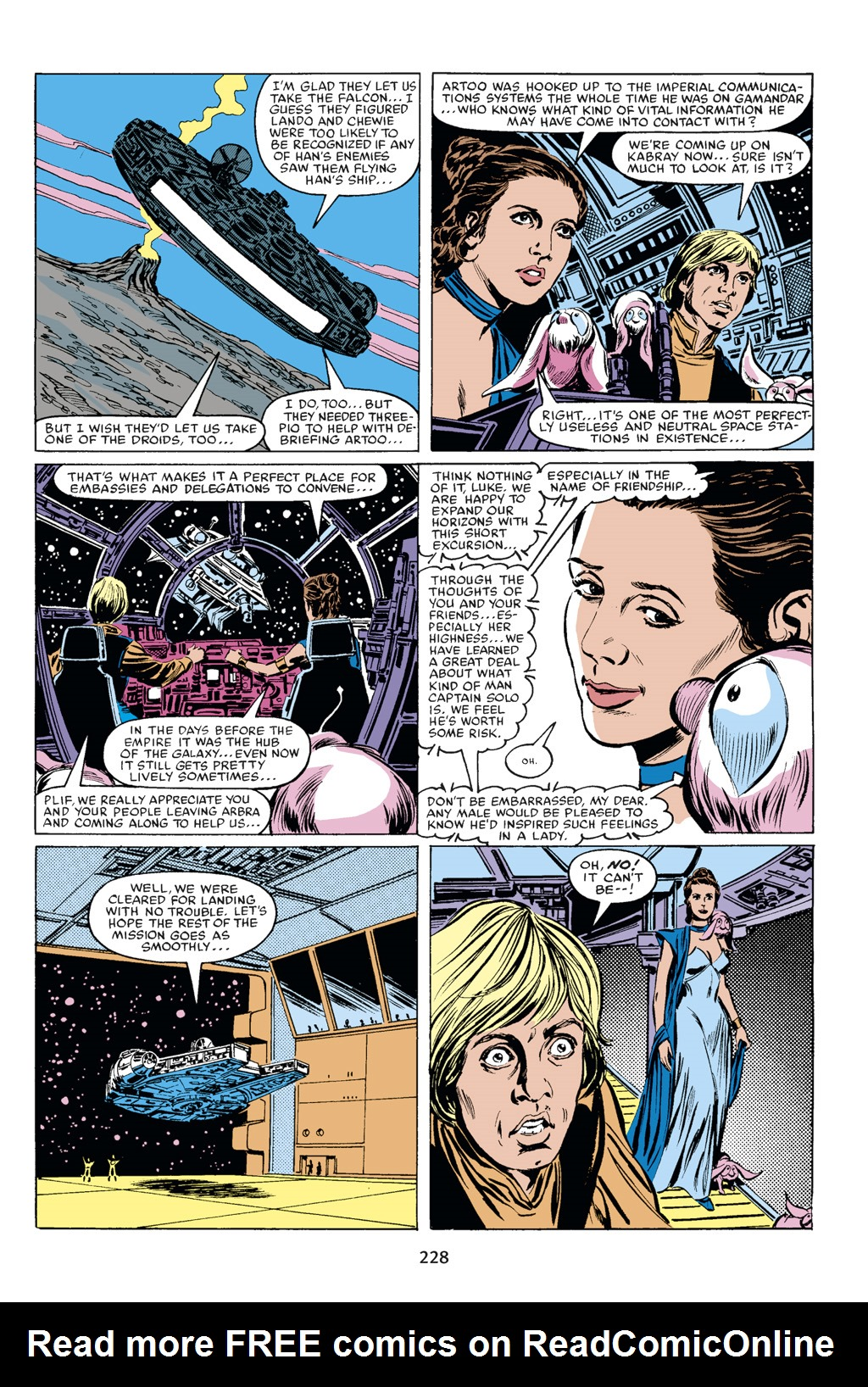 Read online Star Wars Omnibus comic -  Issue # Vol. 18 - 214