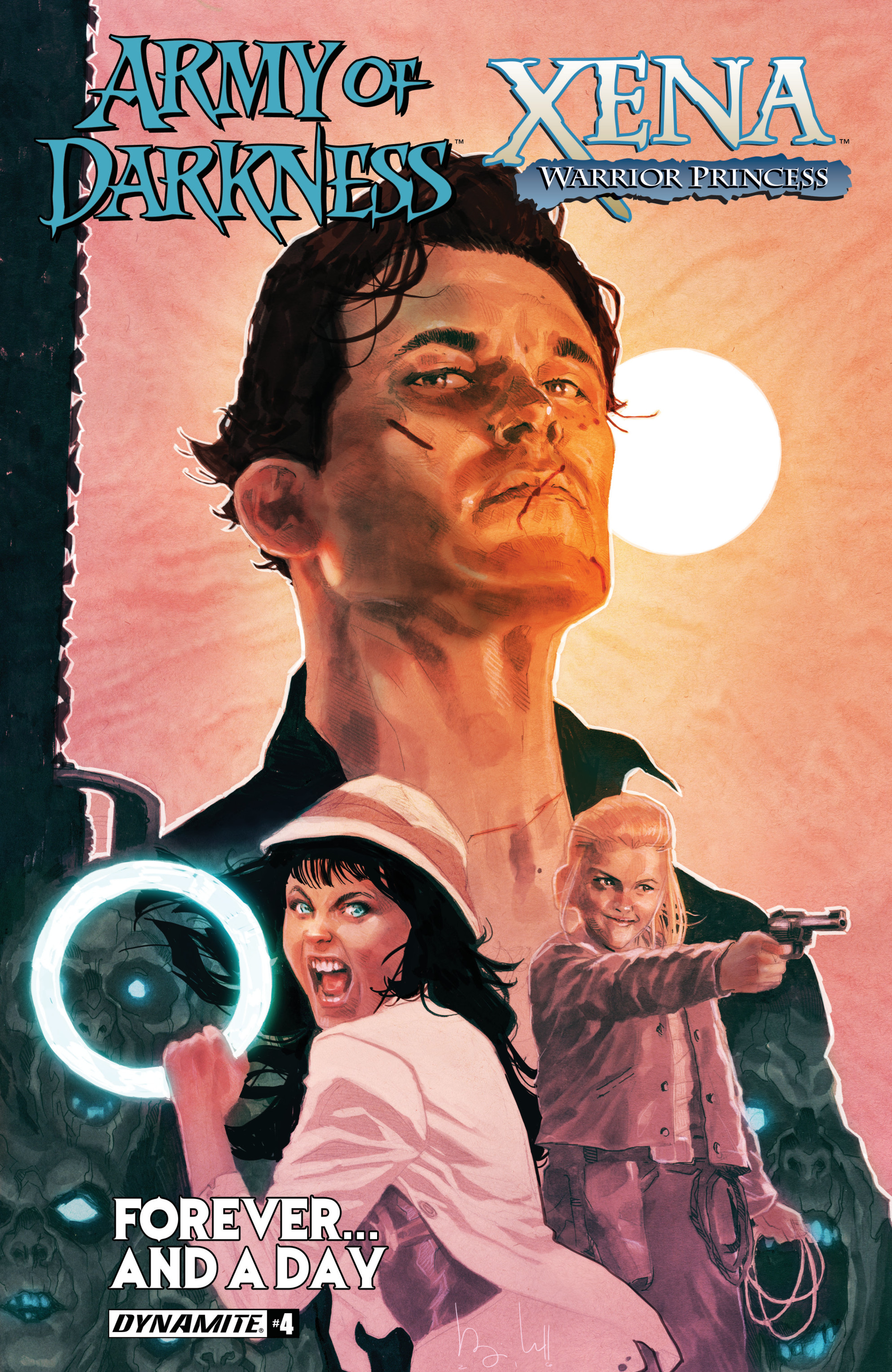 Read online Army Of Darkness/Xena: Forever…And A Day comic -  Issue #4 - 1