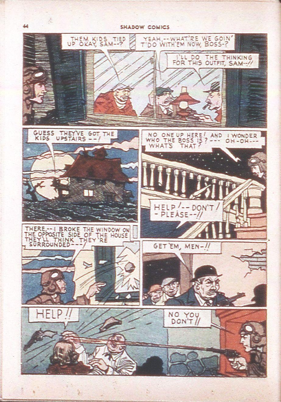 Read online Shadow Comics comic -  Issue #6 - 46