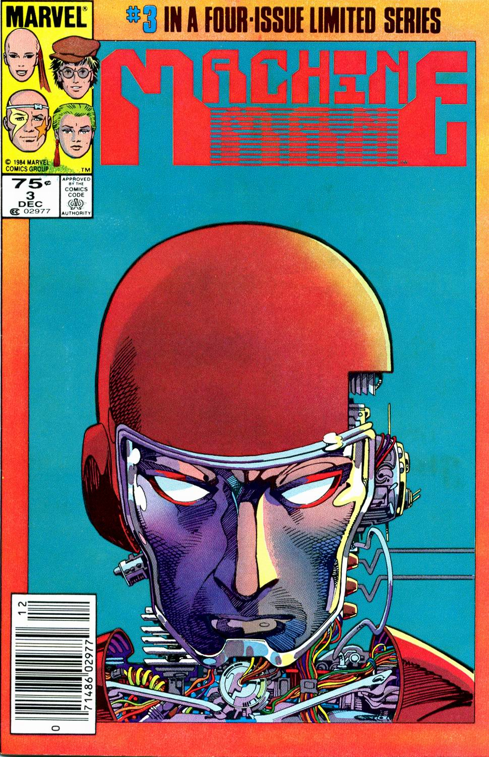 Machine Man (1984) 3 Page 1