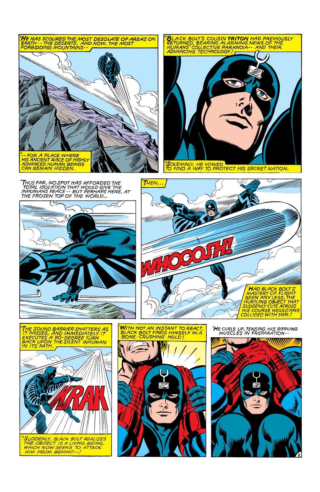 Read online Marvel Masterworks: The Inhumans comic -  Issue # TPB 2 (Part 3) - 83