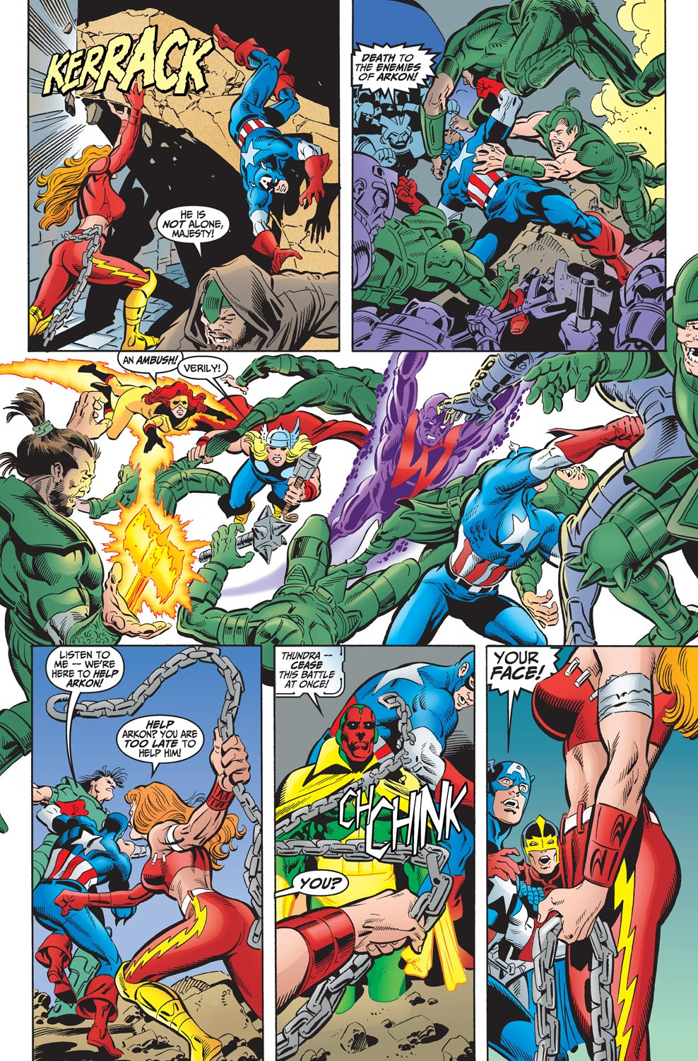 Read online Avengers (1998) comic -  Issue #17 - 13