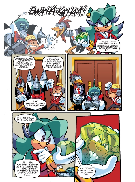 Read online Sonic Comics Spectacular: Speed of Sound comic -  Issue # Full - 62