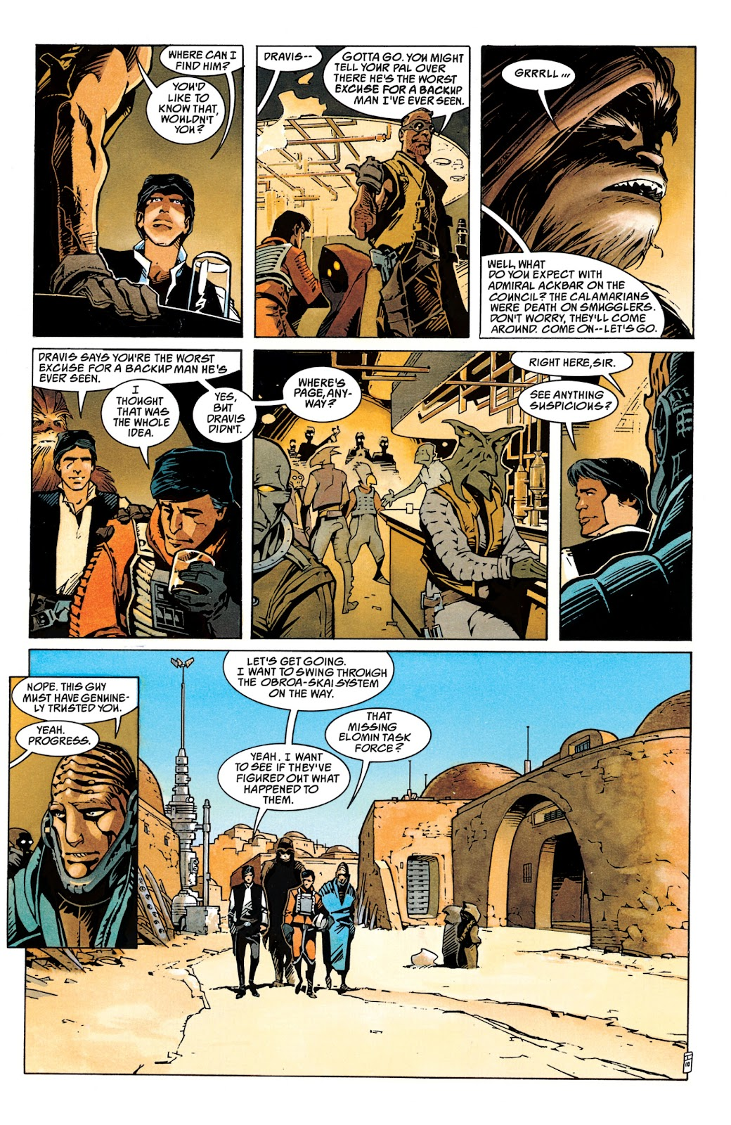 Read online Star Wars Legends: The New Republic - Epic Collection comic -  Issue # TPB 4 (Part 1) - 16