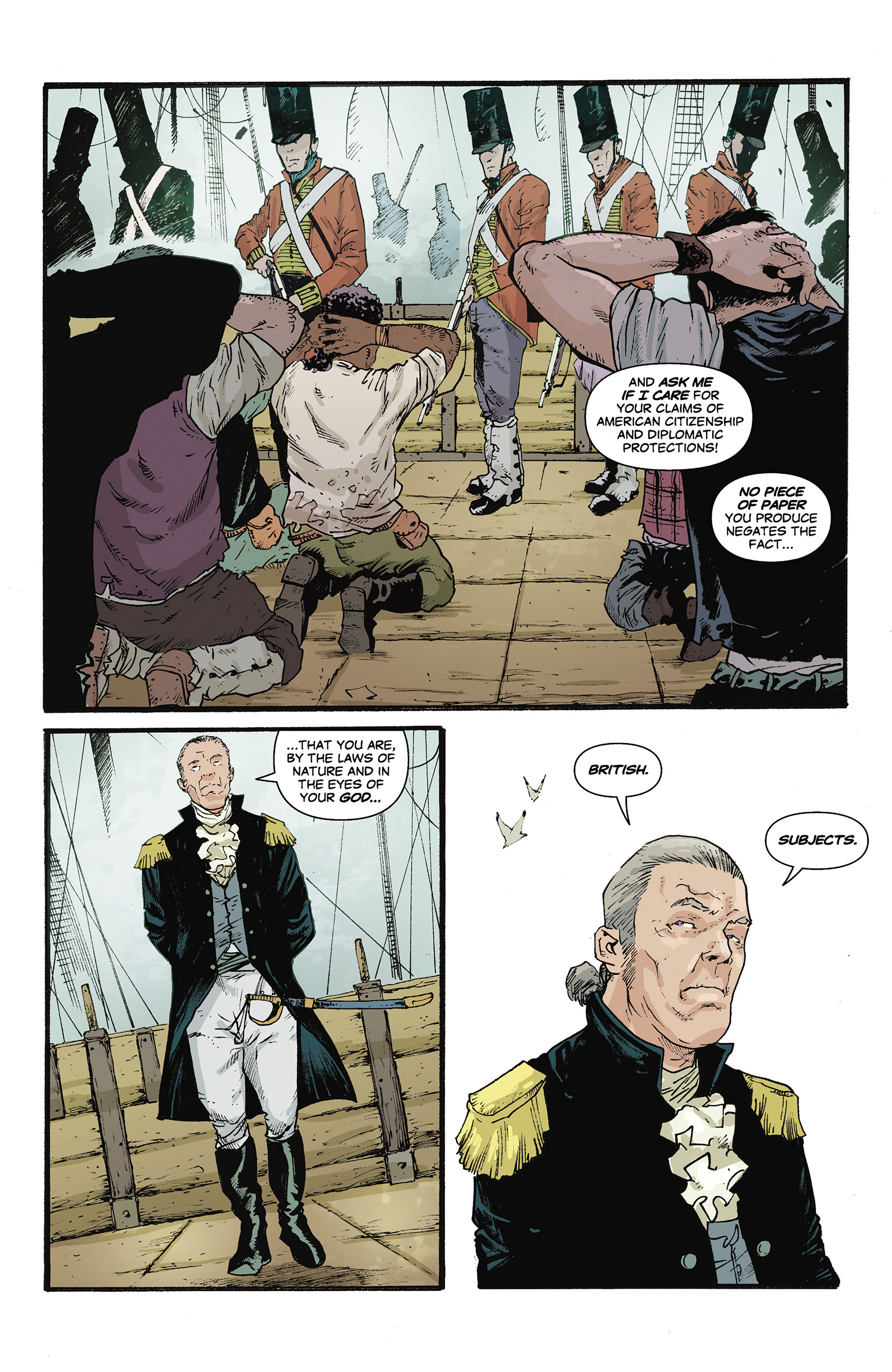 Read online Rebels: These Free and Independent States comic -  Issue #3 - 4