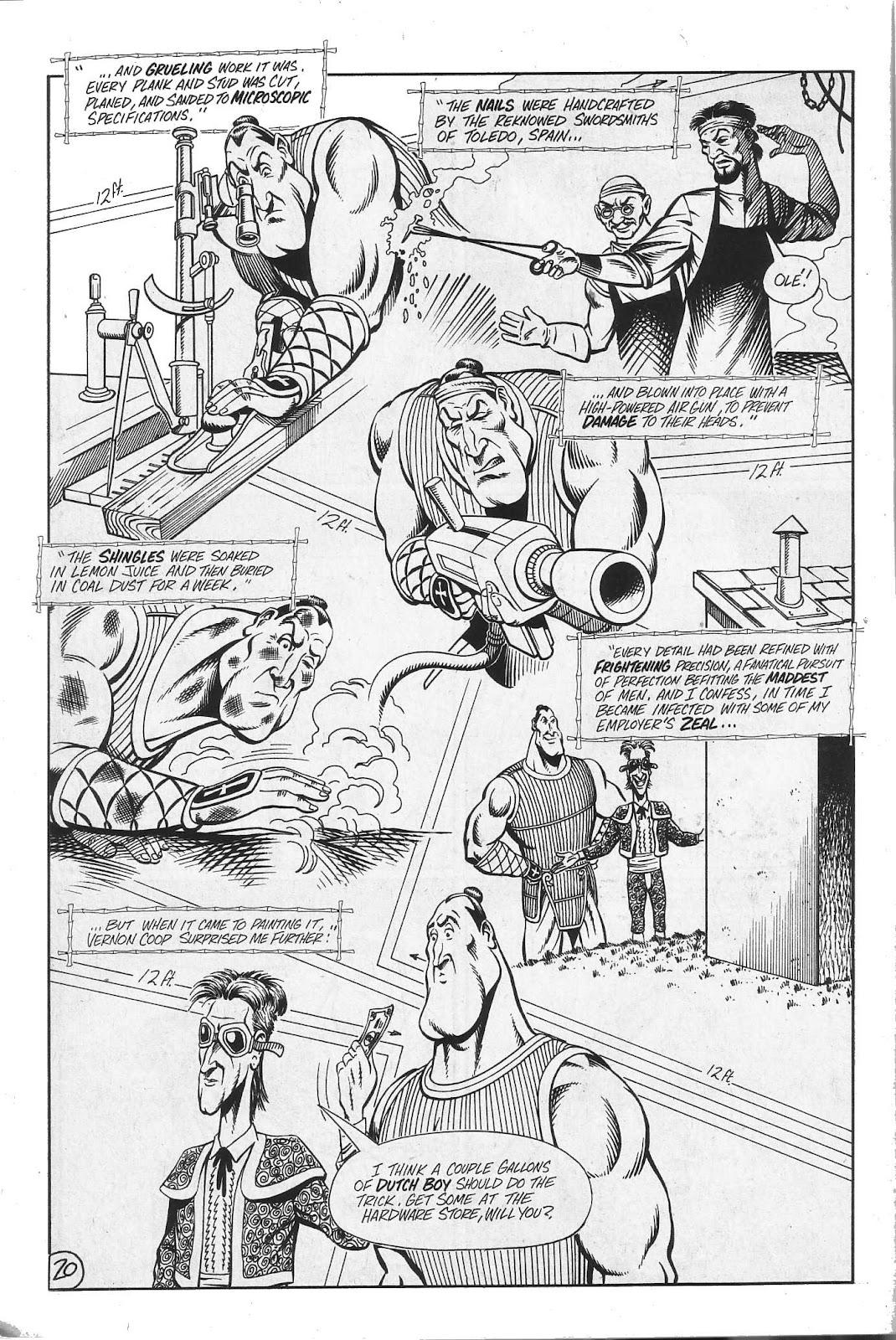 Read online Paul the Samurai (1991) comic -  Issue # TPB - 86