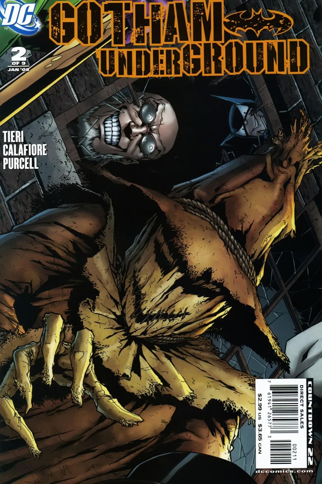 Gotham Underground issue 2 - Page 1