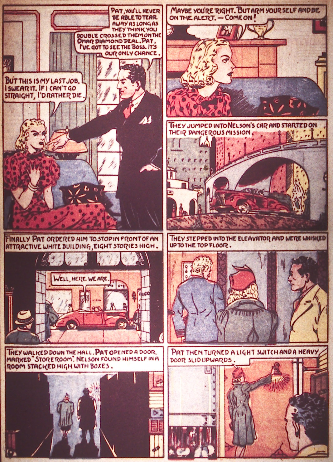 Read online Detective Comics (1937) comic -  Issue #16 - 30