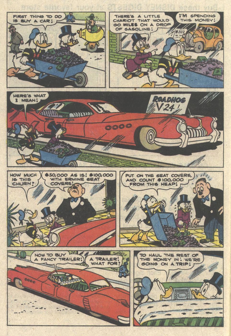 Read online Uncle Scrooge (1953) comic -  Issue #216 - 28