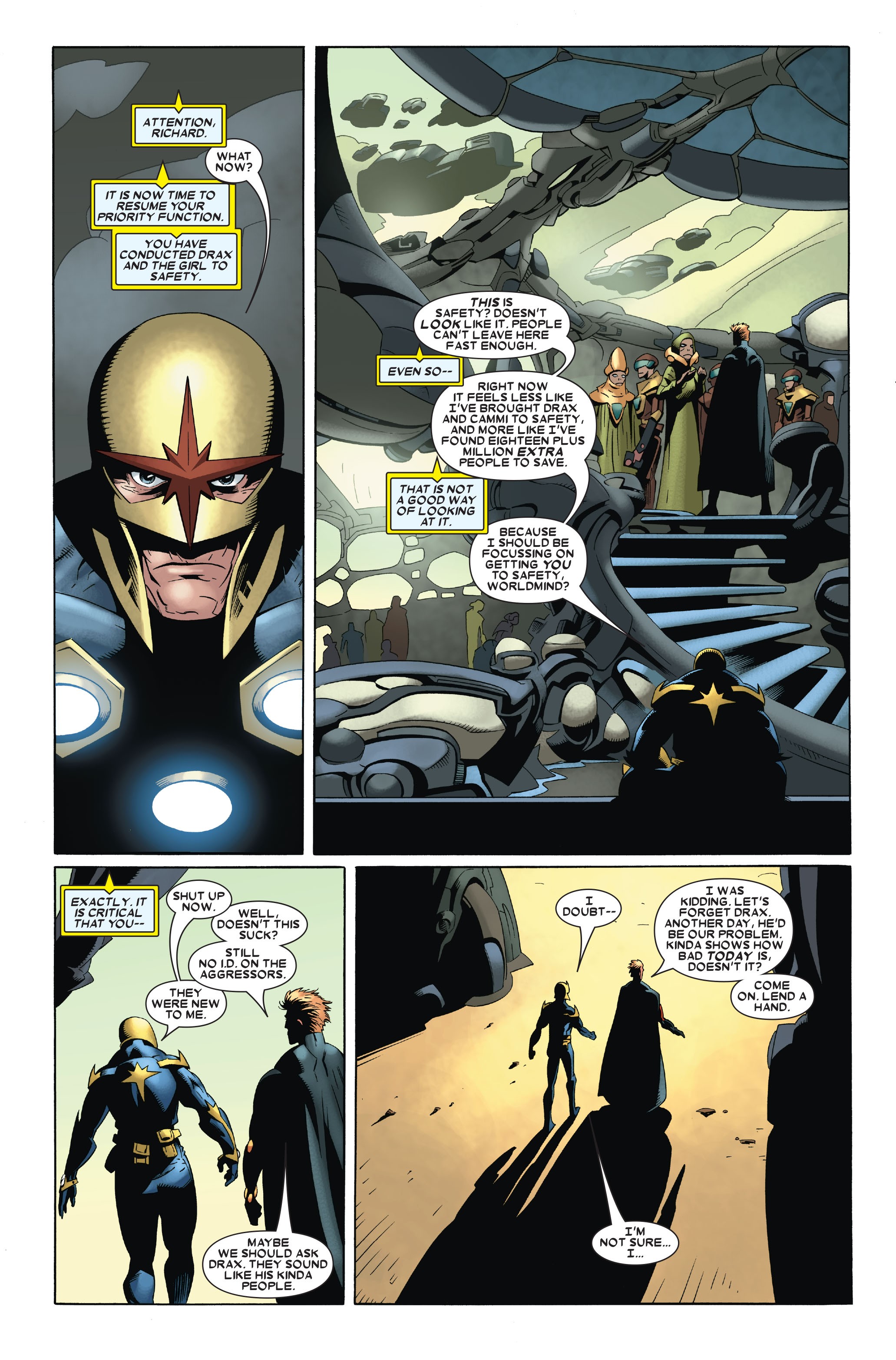 Read online Annihilation: Nova comic -  Issue #3 - 5