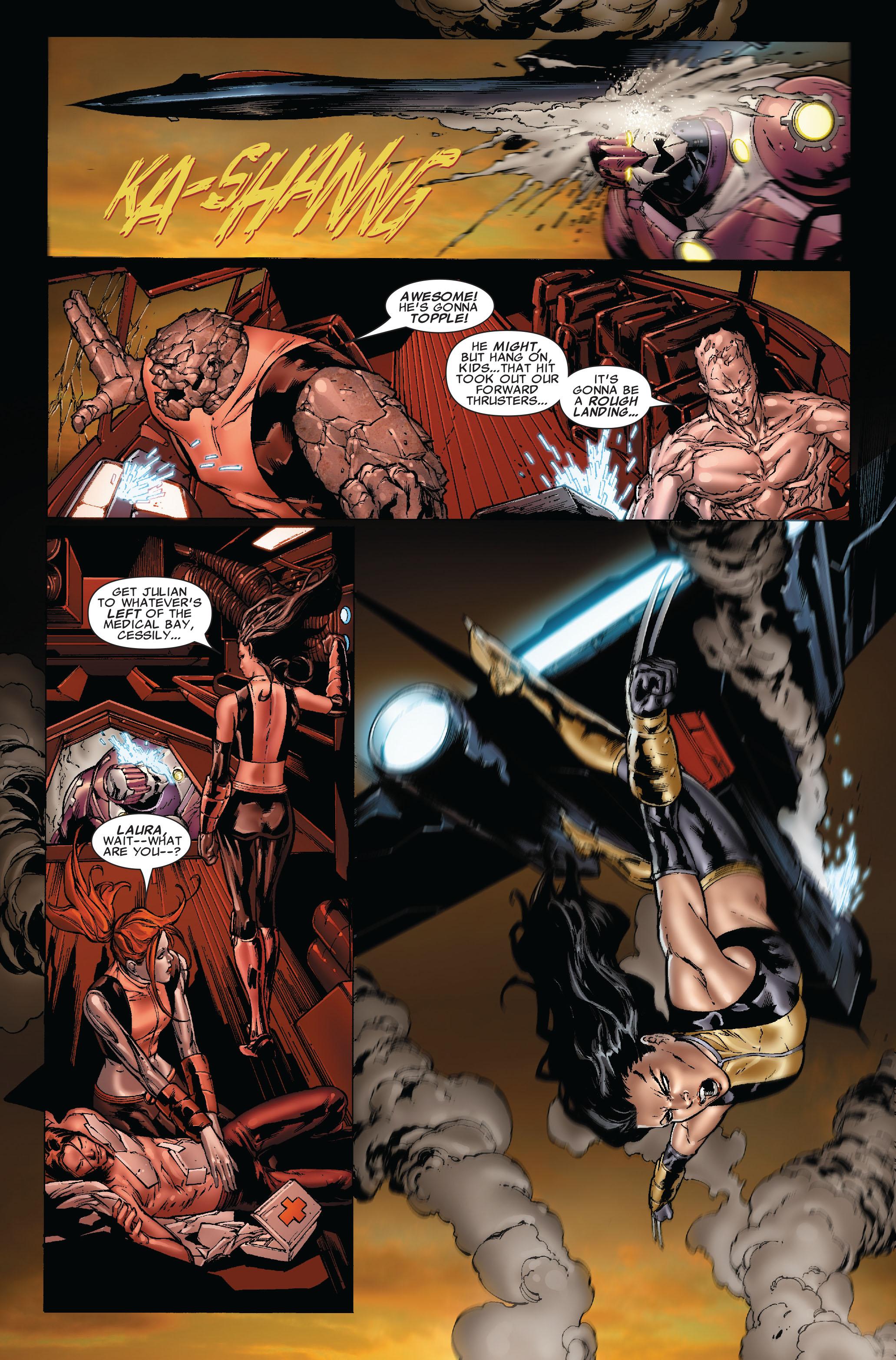 Read online Uncanny X-Men (1963) comic -  Issue #493 - 13