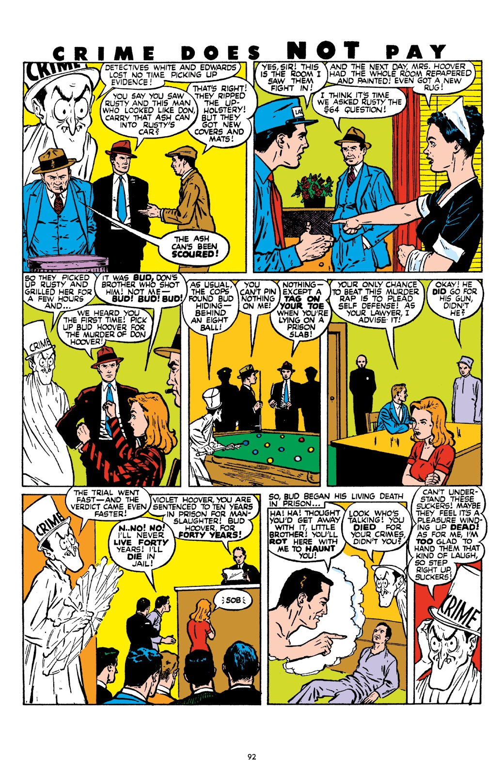 Read online Crime Does Not Pay Archives comic -  Issue # TPB 8 (Part 1) - 93