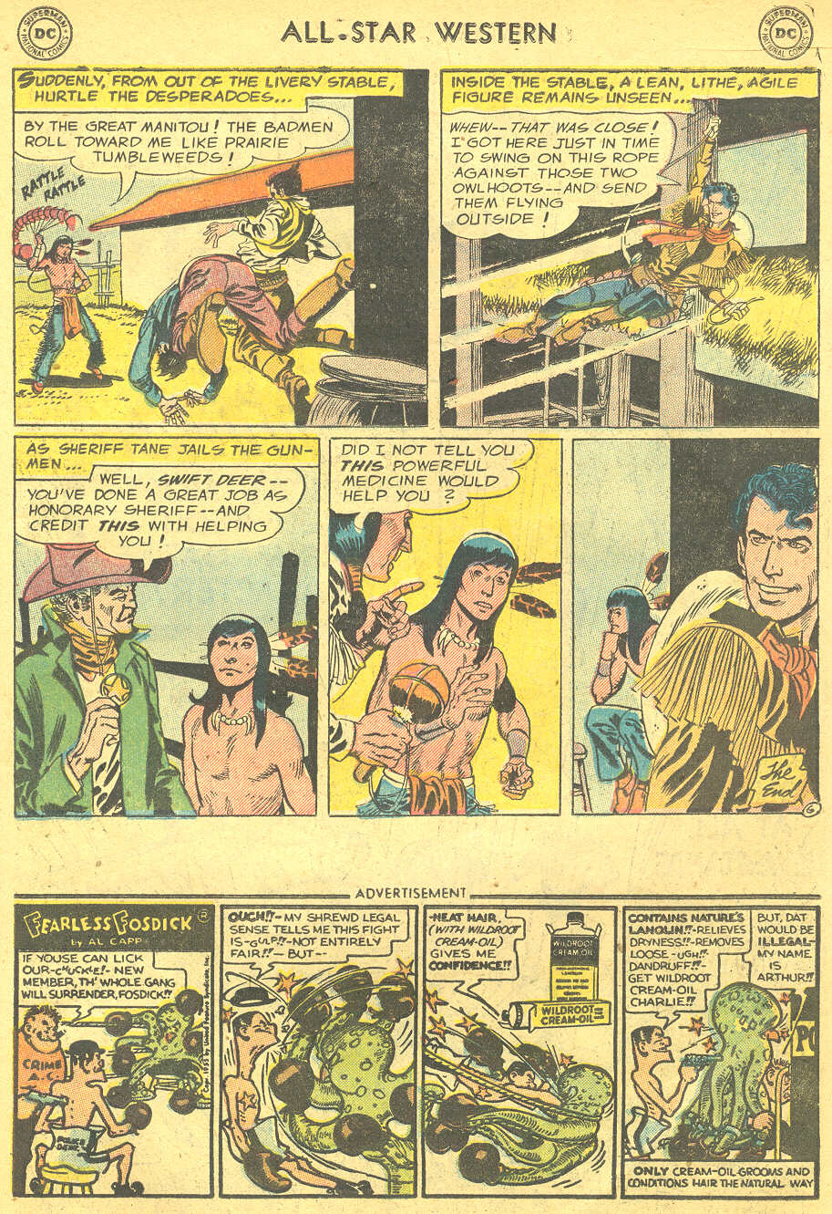 Read online All-Star Western (1951) comic -  Issue #88 - 15