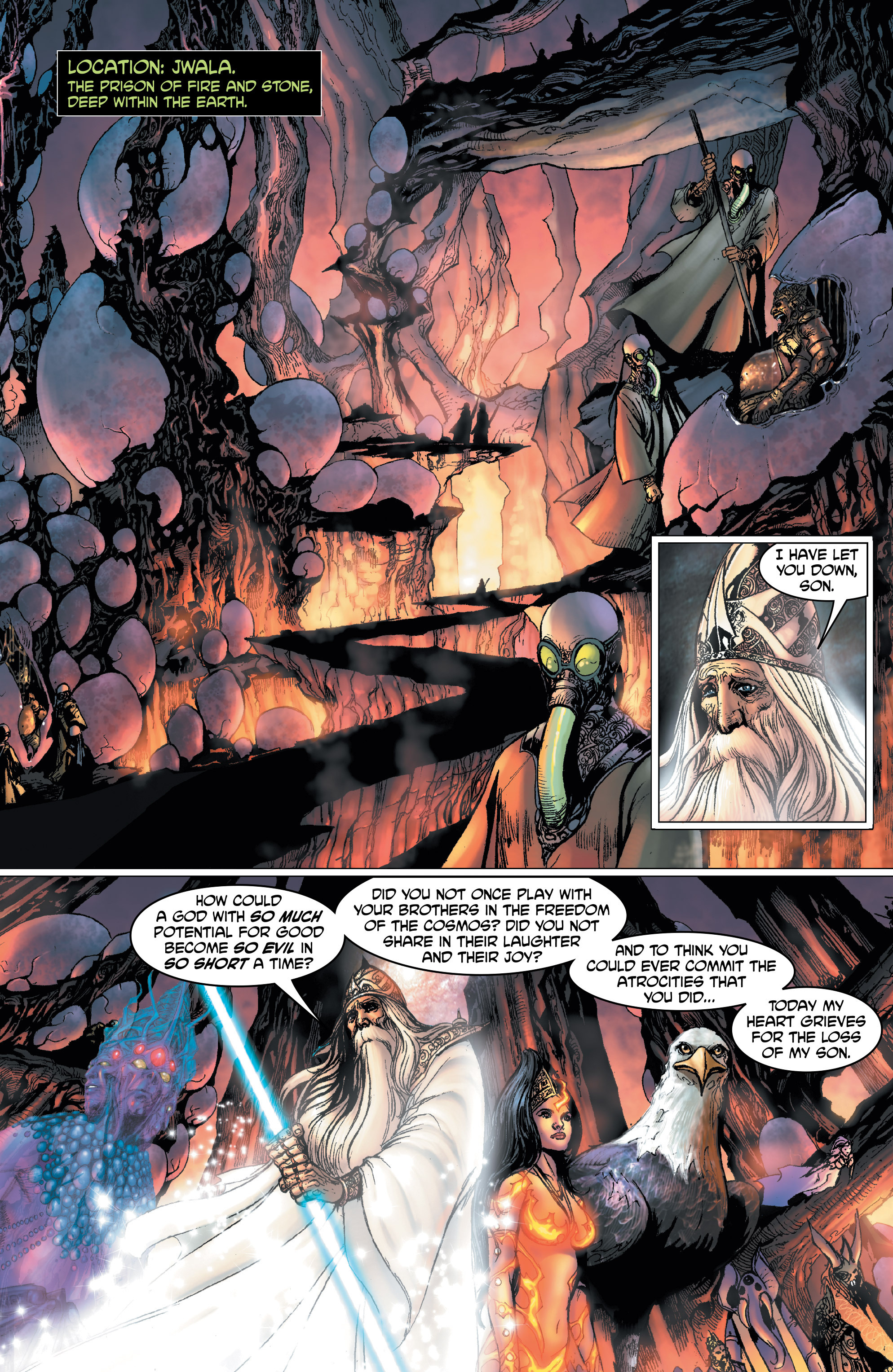 Read online Shekhar Kapur's Devi: Rebirth comic -  Issue #1 - 17
