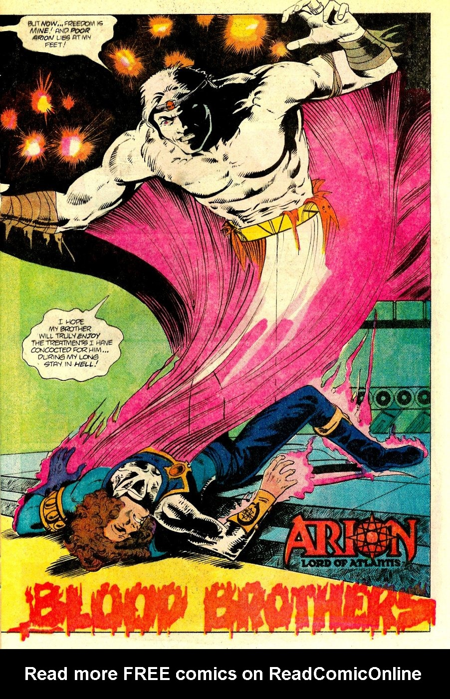 Read online Arion, Lord of Atlantis comic -  Issue #18 - 4