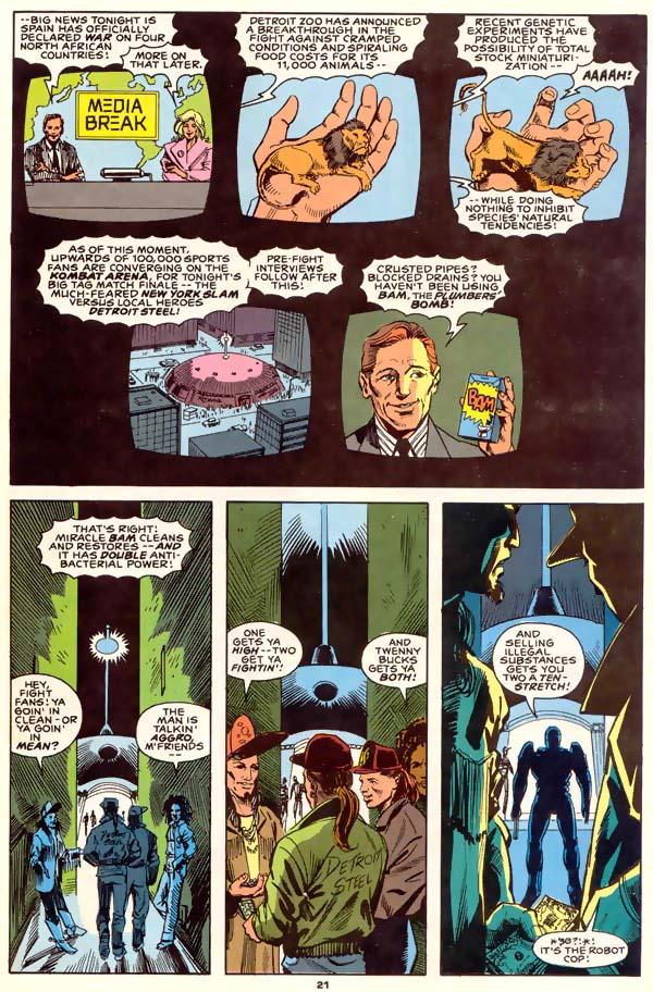 Read online Robocop (1990) comic -  Issue #1 - 16