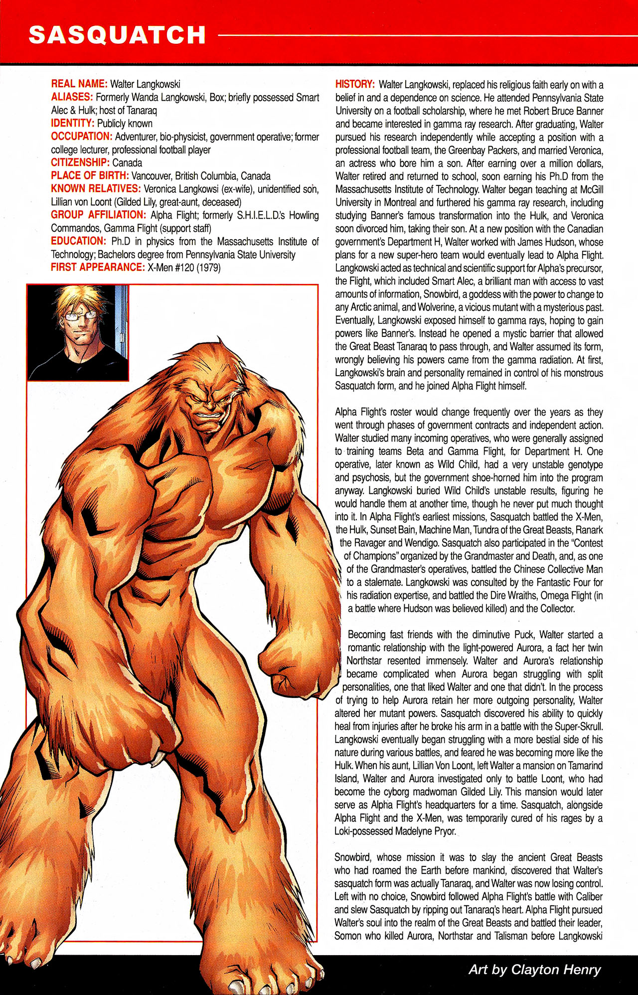 Read online All-New Official Handbook of the Marvel Universe A to Z comic -  Issue #9 - 42