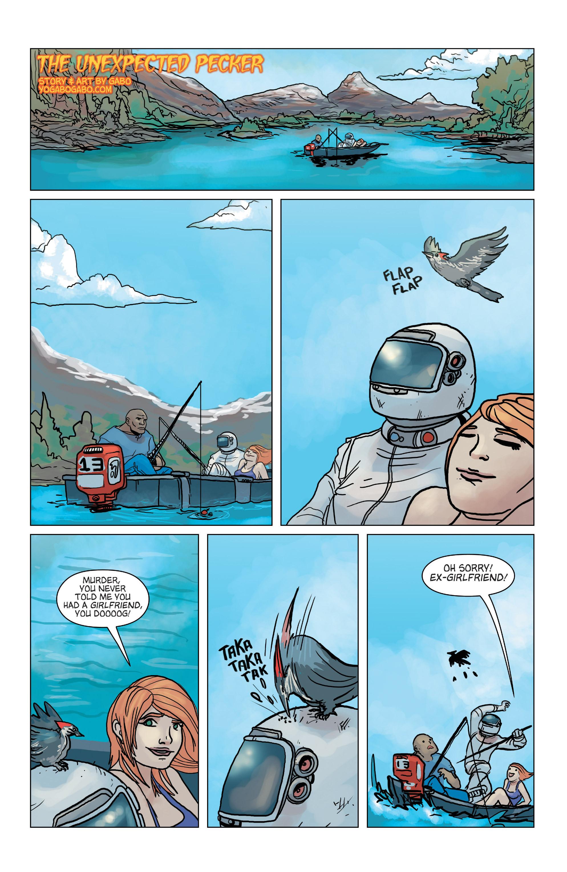 Read online Hoax Hunters (2012) comic -  Issue # TPB 3 - 128